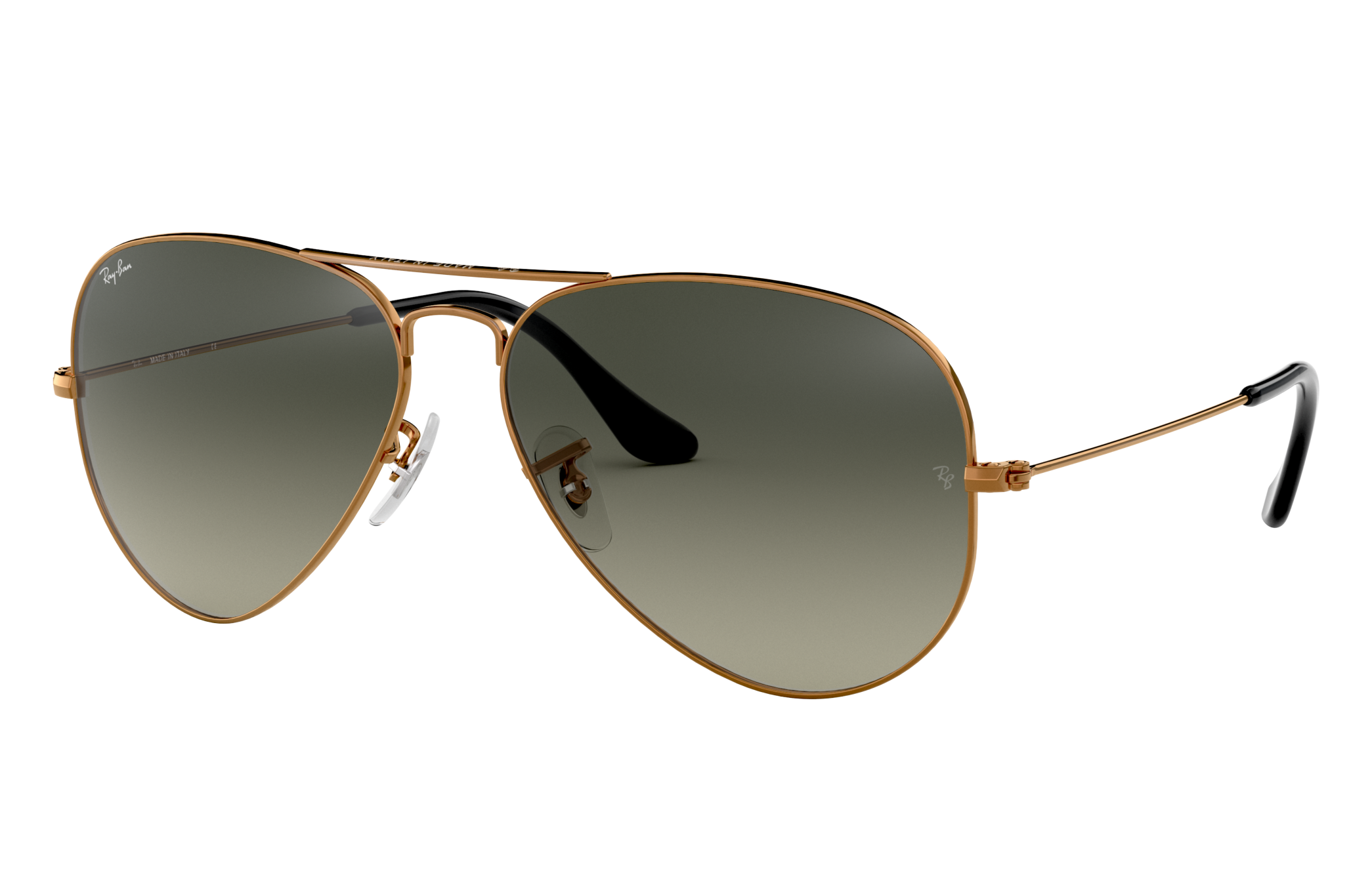 Ray-Ban Aviator Gradient Bronze-Copper, Gray Lenses - RB3025