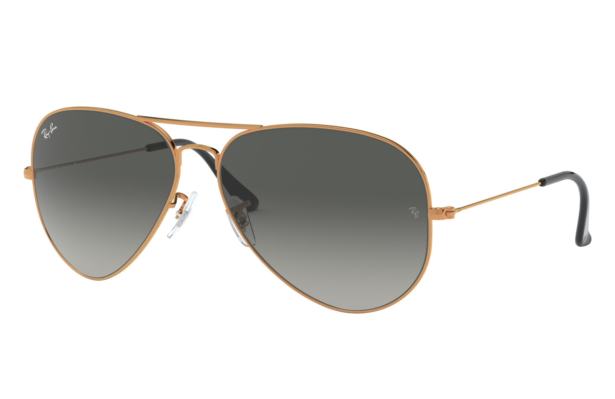Ray-Ban Aviator Gradient Bronze-Copper, Gray Lenses - RB3026