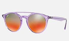 Ray-Ban RB4279F 6280A8 51-21 RB4279F(JPフィット) バイオレット Tech