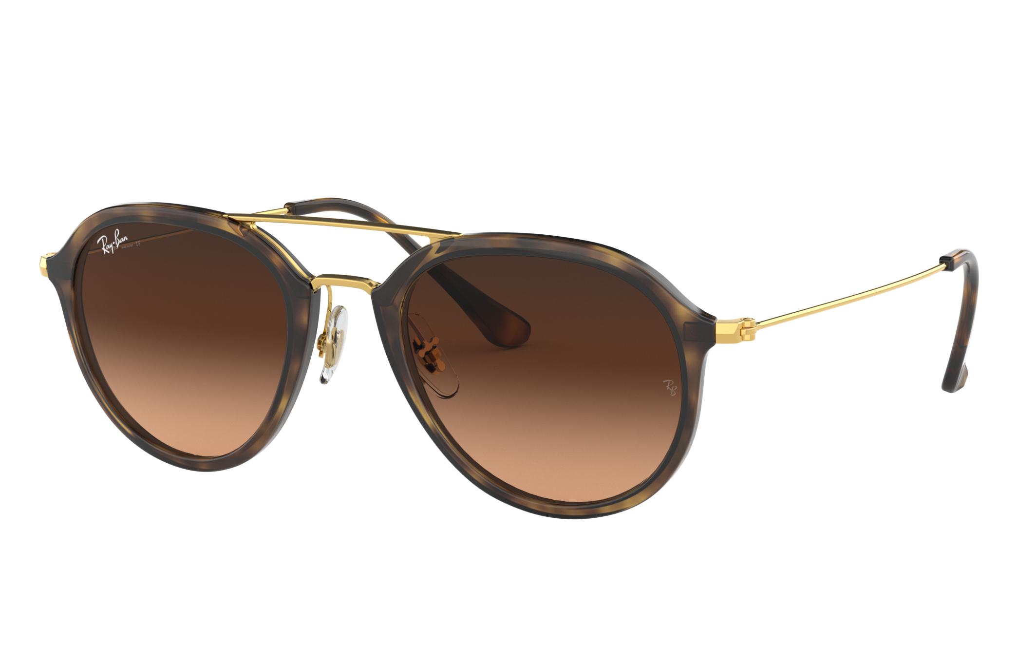Ray-Ban Rb4253 Gold, Pink Lenses - RB4253