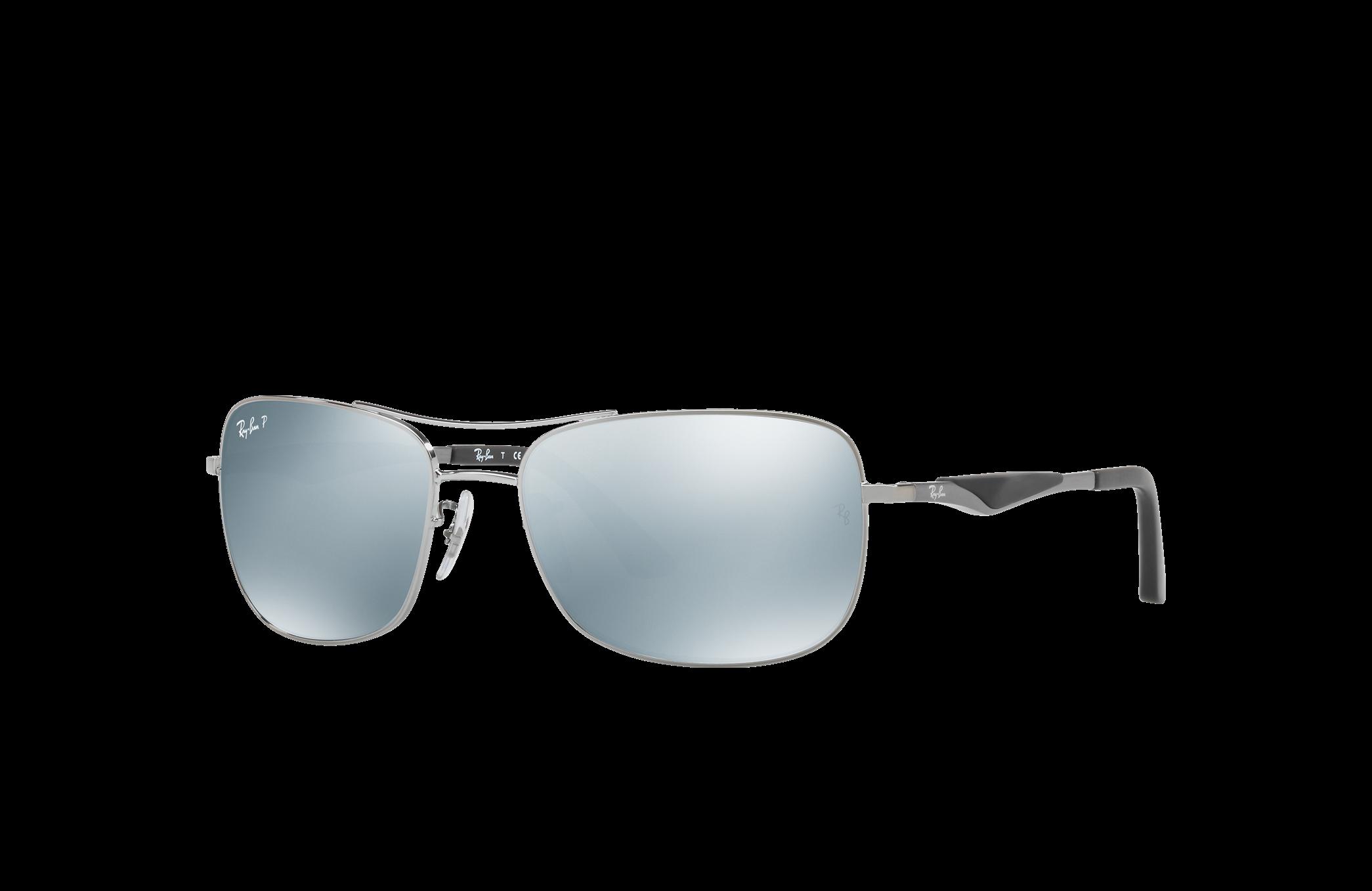 Ray-Ban Rb3515 Gunmetal, Polarized Gray Lenses - RB3515