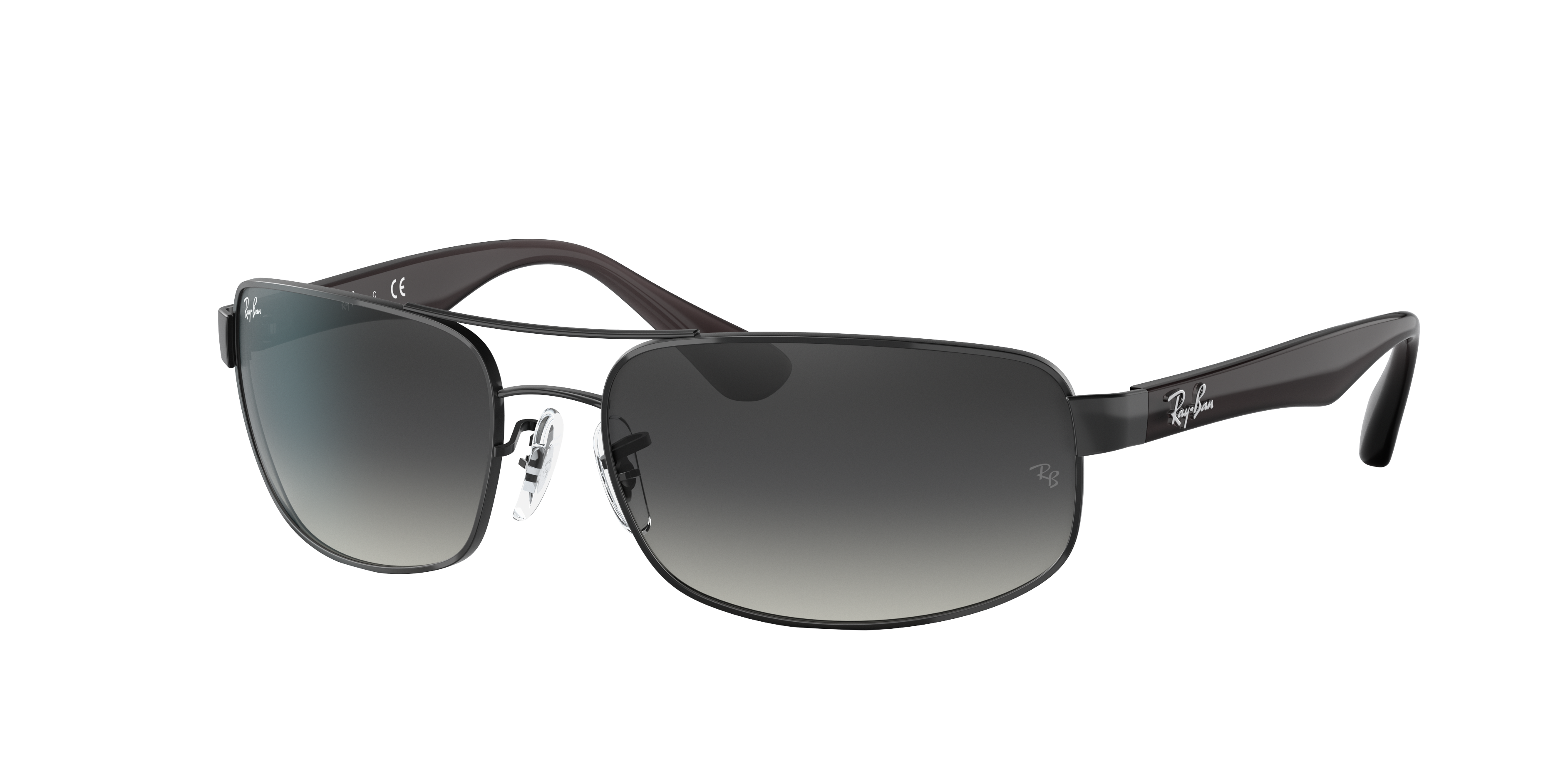 Ray-Ban Rb3445 Grey, Gray Lenses - RB3445