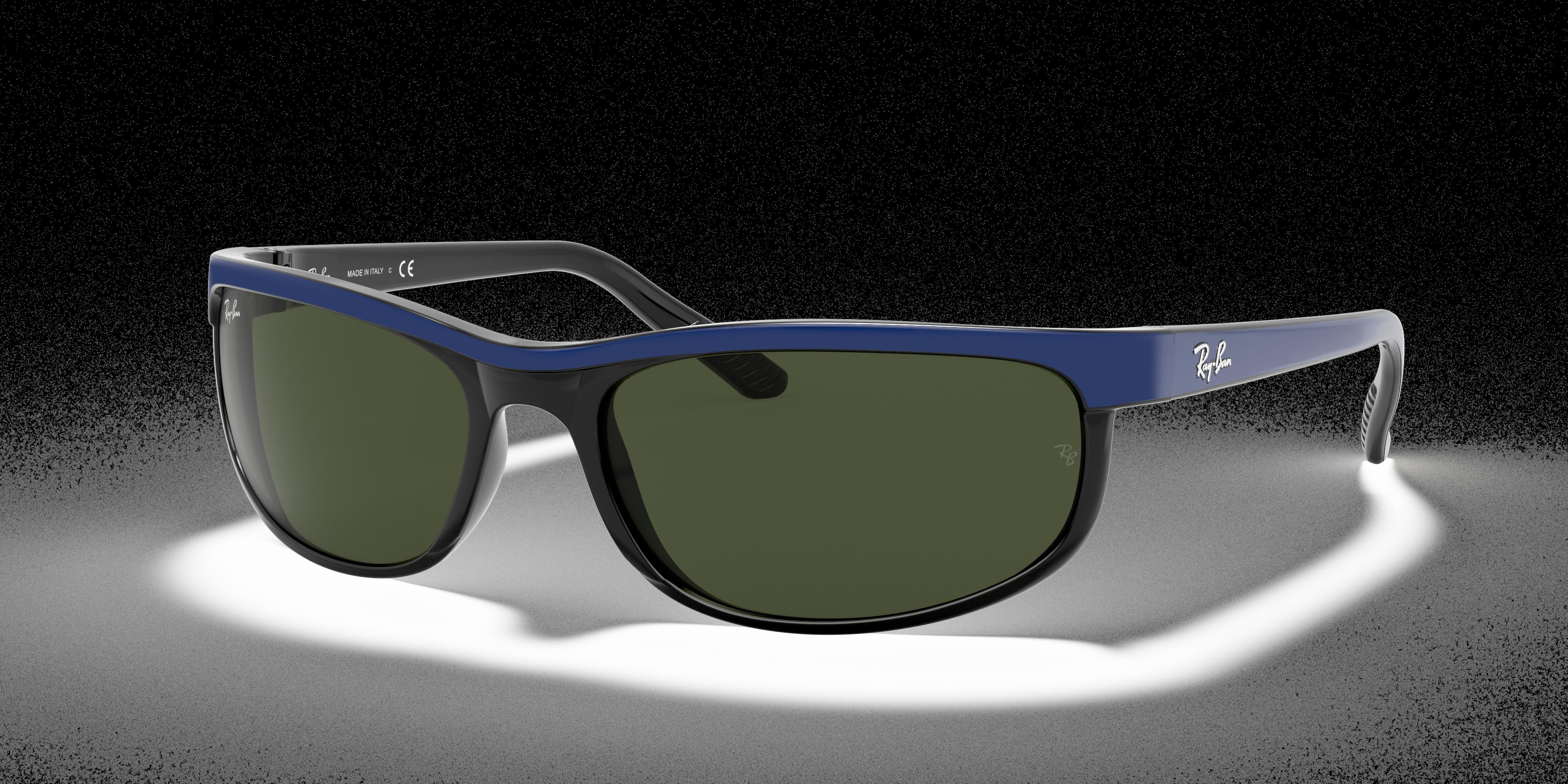 Ray-Ban Predator 2 Blue, Green Lenses - RB2027