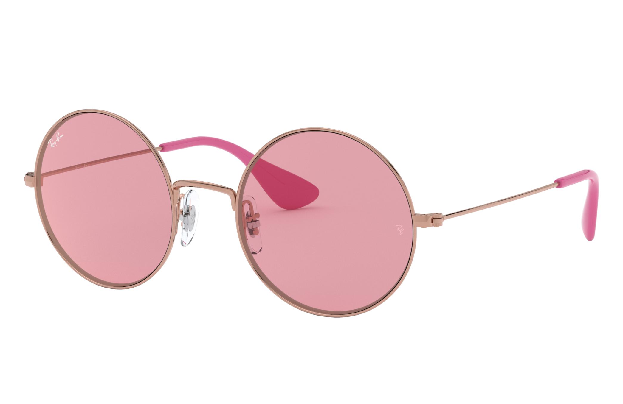 Ray-Ban Ja-jo Bronze-Copper, Pink Lenses - RB3592