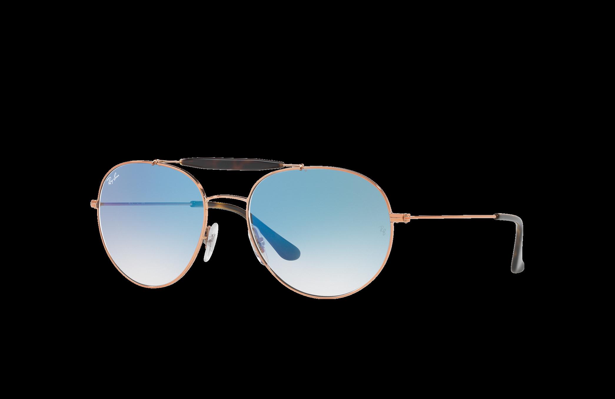 Ray-Ban Rb3540 Bronze-Copper, Blue Lenses - RB3540