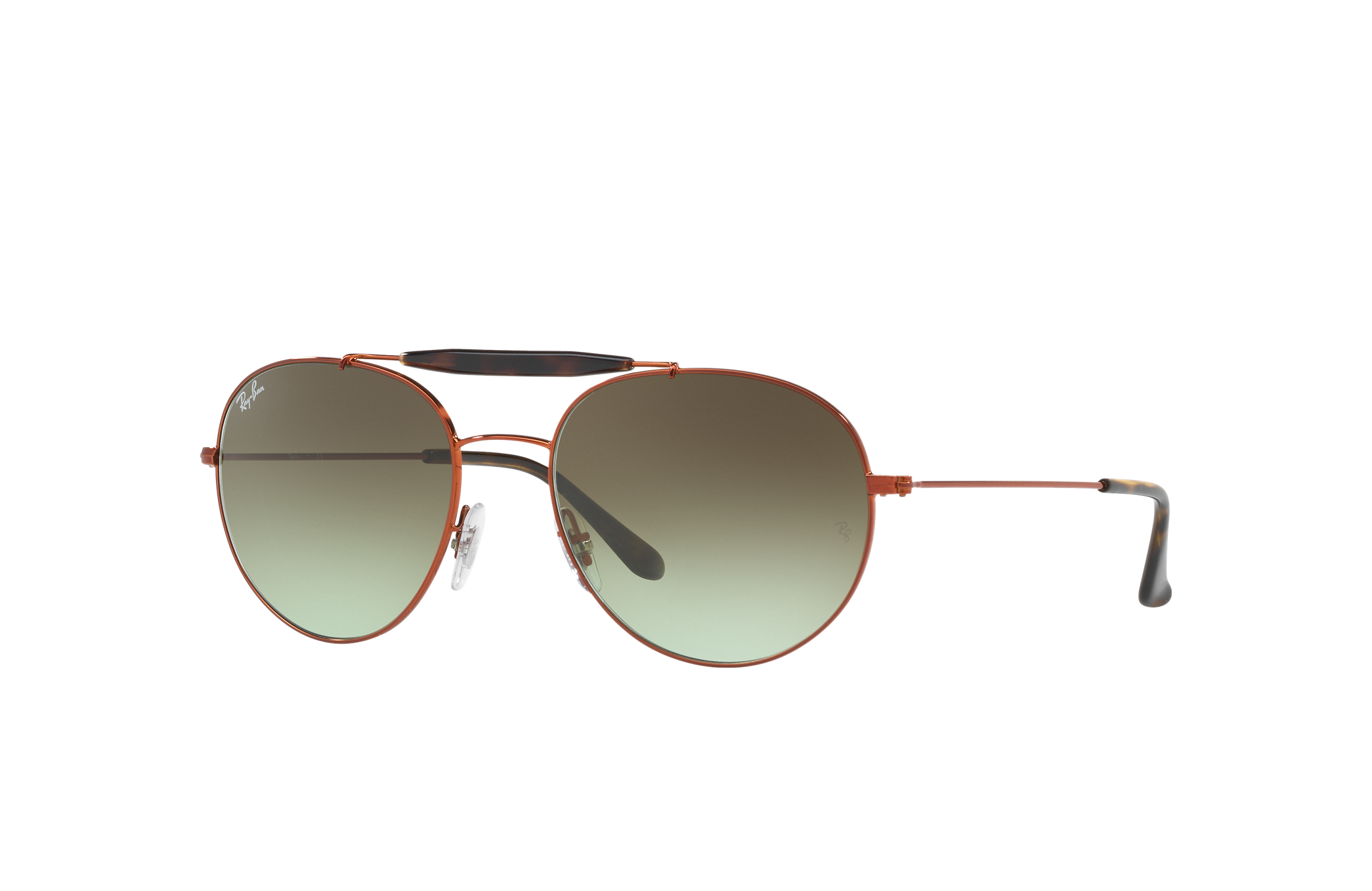Ray-Ban Rb3540 Bronze-Copper, Green Lenses - RB3540