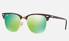 Ray-Ban RB3016F 114519 55-19 CLUBMASTER CLASSIC(JPフィット) トータス 新作サングラス