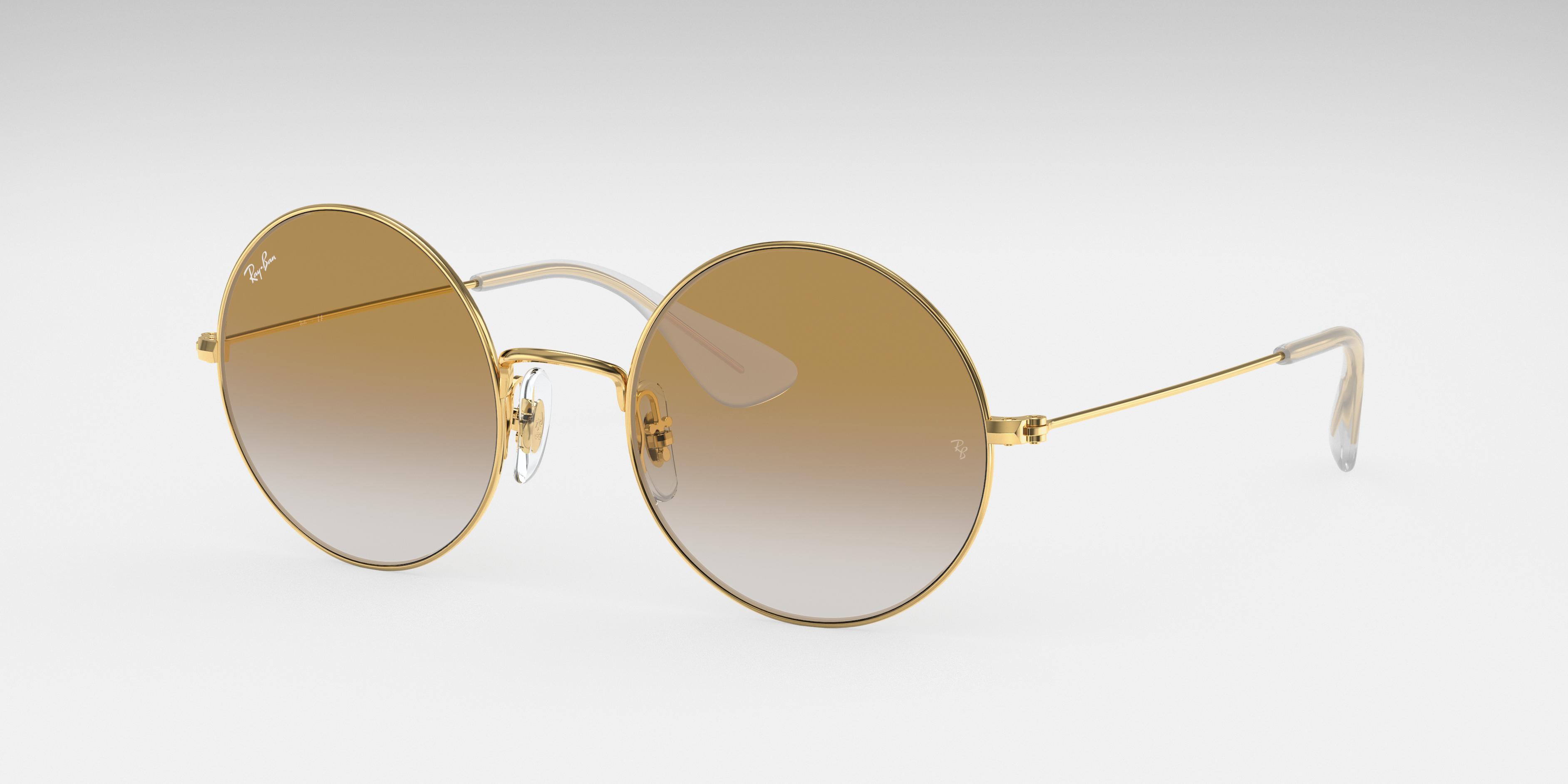 Ray-Ban Ja-jo Gold, Brown Lenses - RB3592