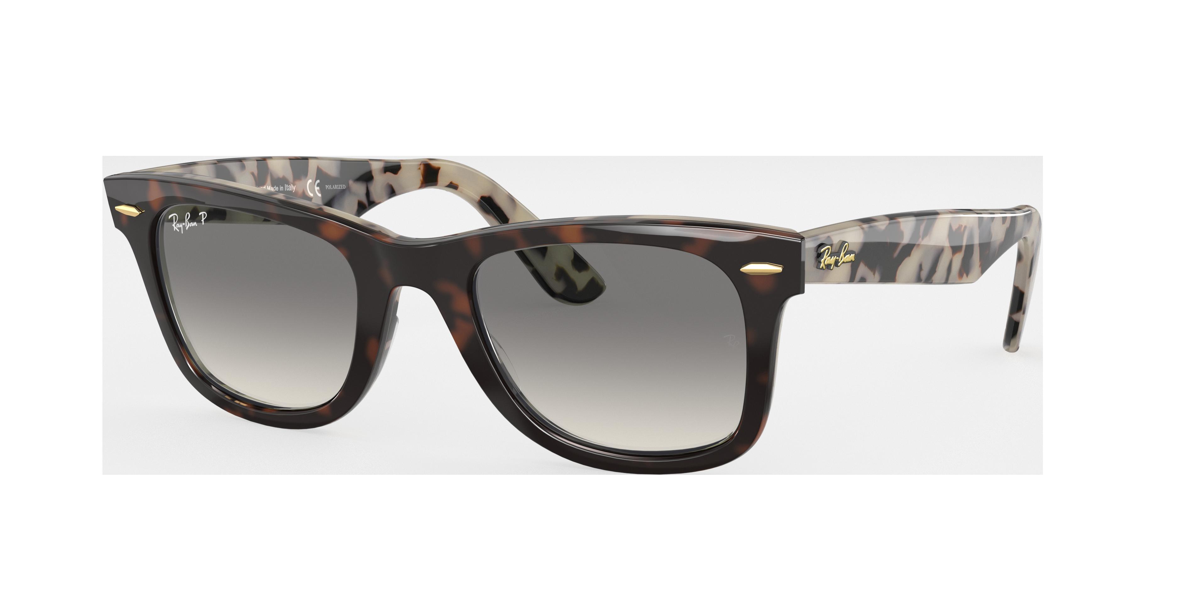 Ray-Ban Original Wayfarer @collection Tortoise, Polarized Gray Lenses - RB2140