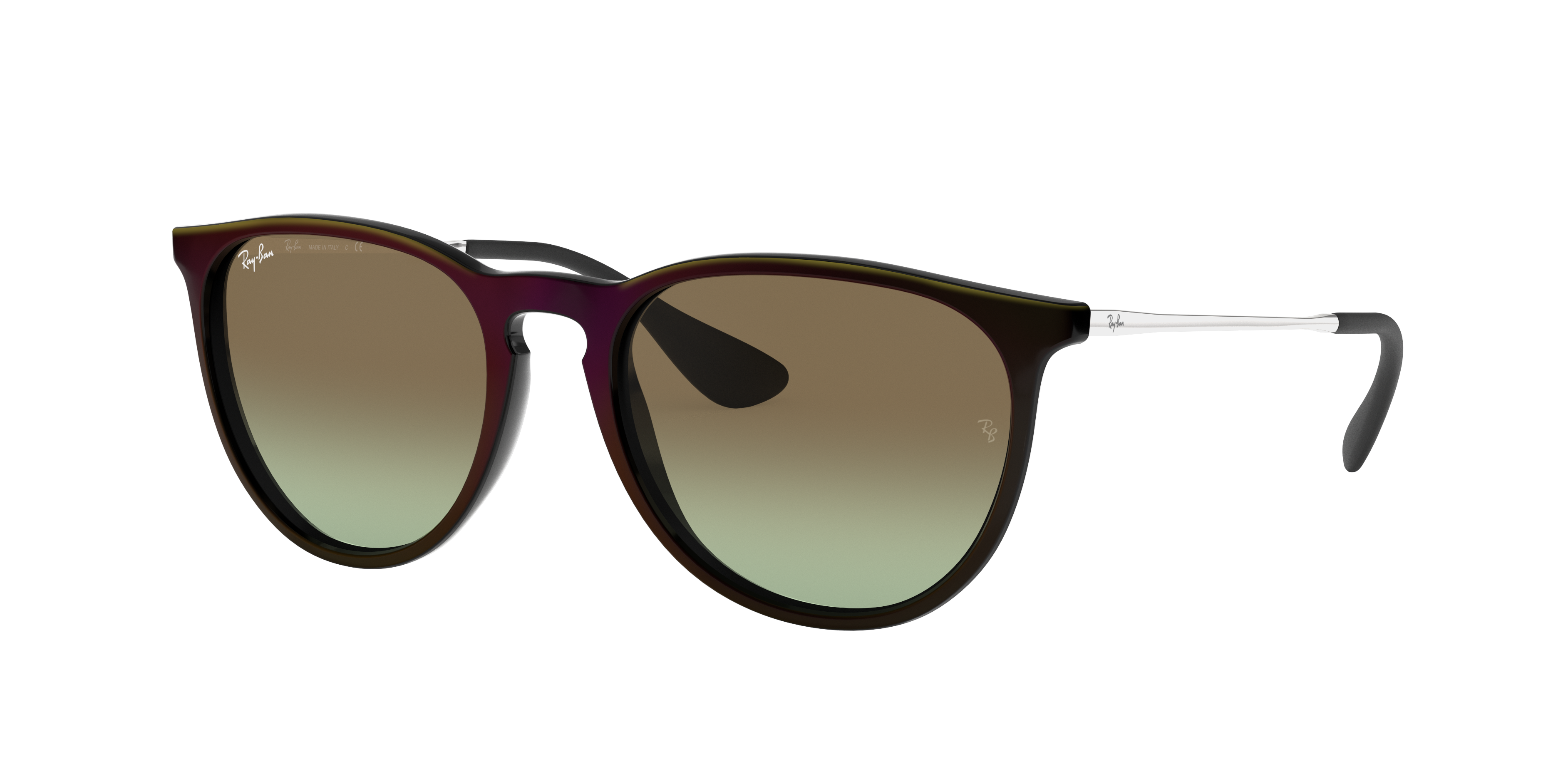 Ray-Ban Erika Classic Silver, Brown Lenses - RB4171