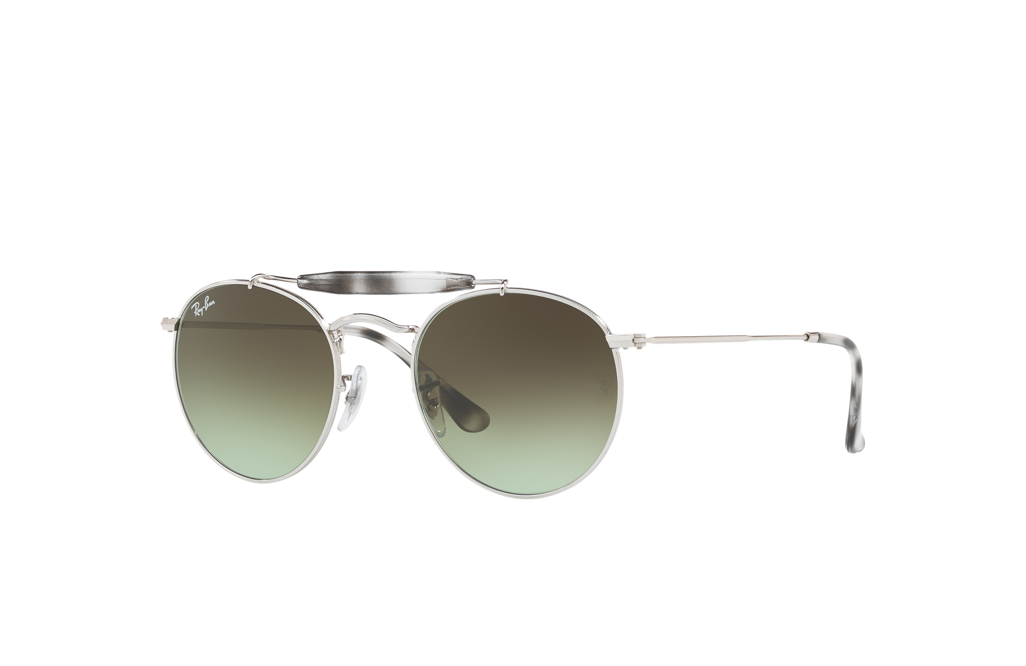 Ray-Ban Rb3747 Silver, Green Lenses - RB3747