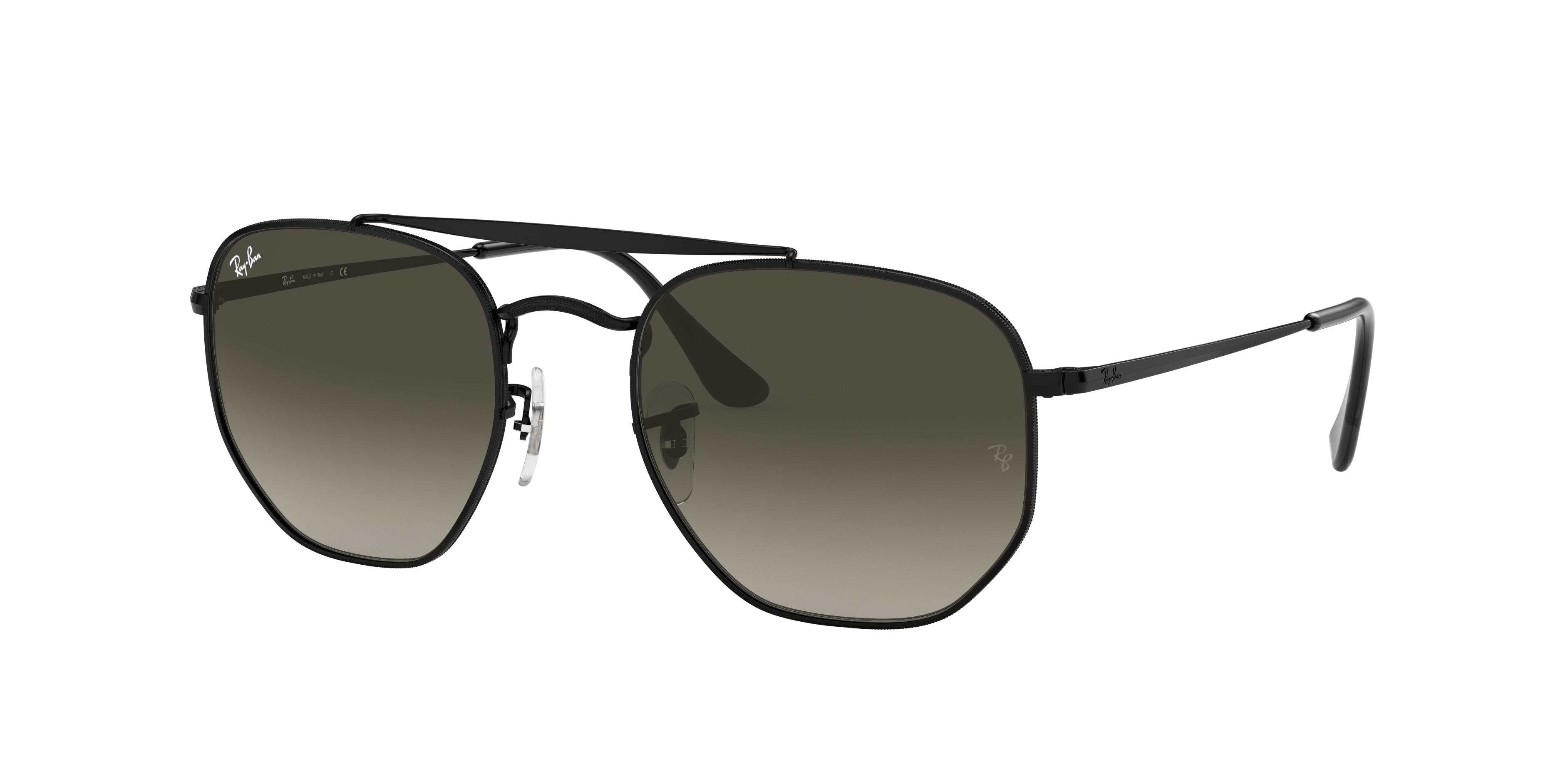 Ray-Ban Marshal Black, Gray Lenses - RB3648
