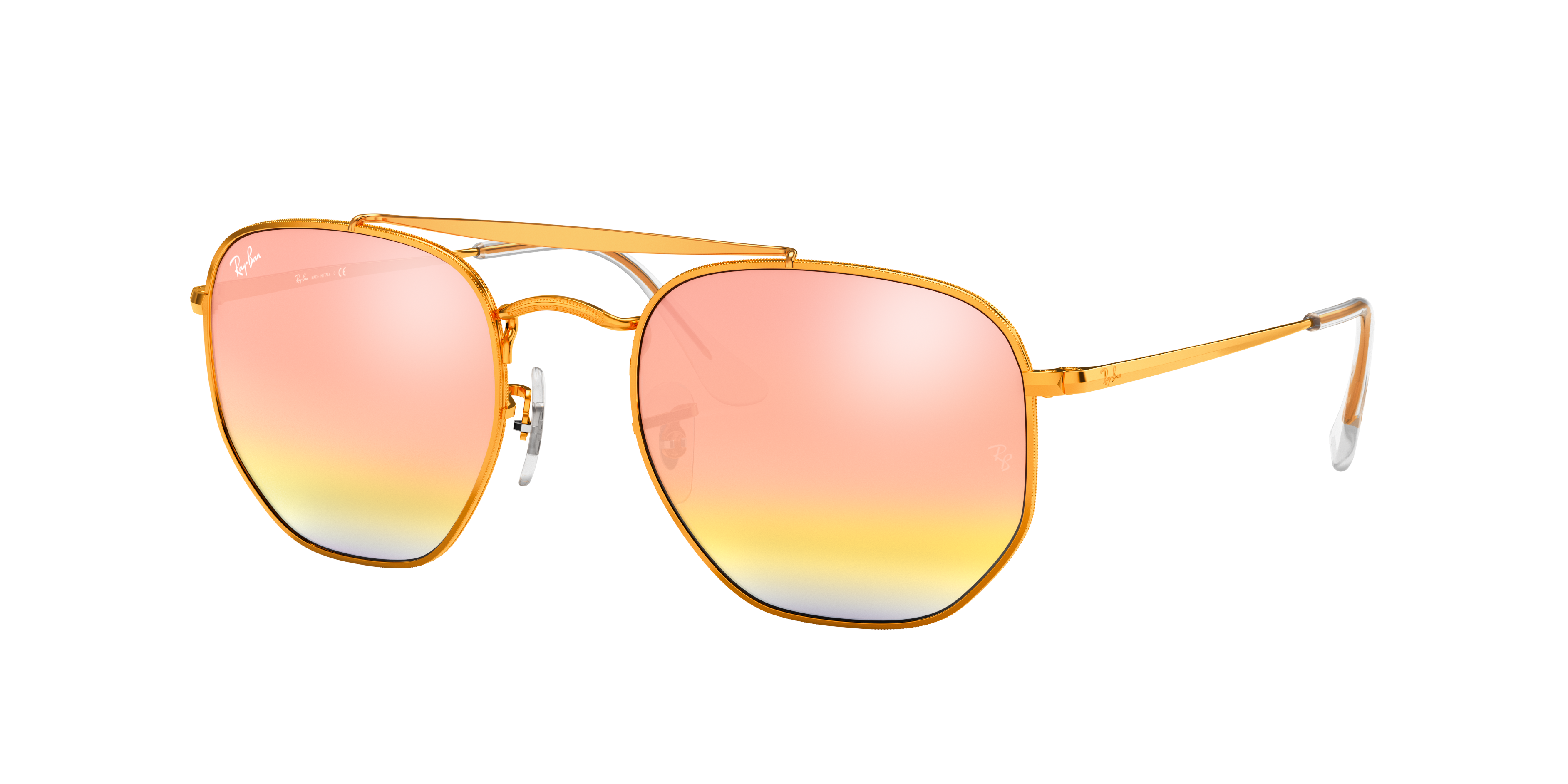 Ray-Ban Marshal Bronze-Copper, Pink Lenses - RB3648