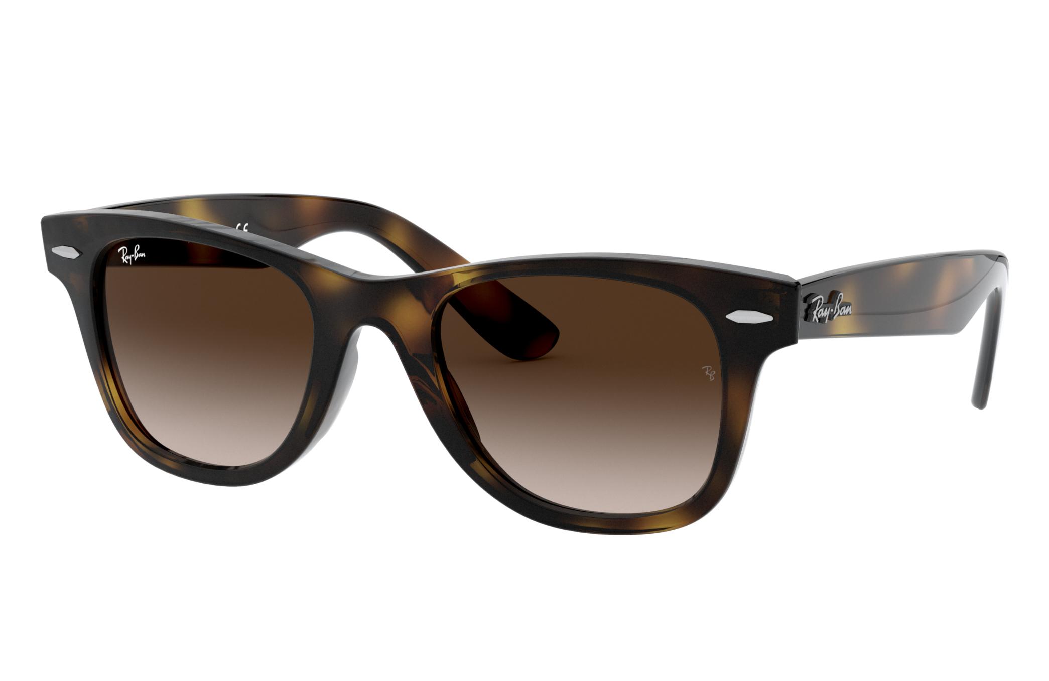 Ray-Ban Wayfarer Junior Tortoise, Brown Lenses - RJ9066S