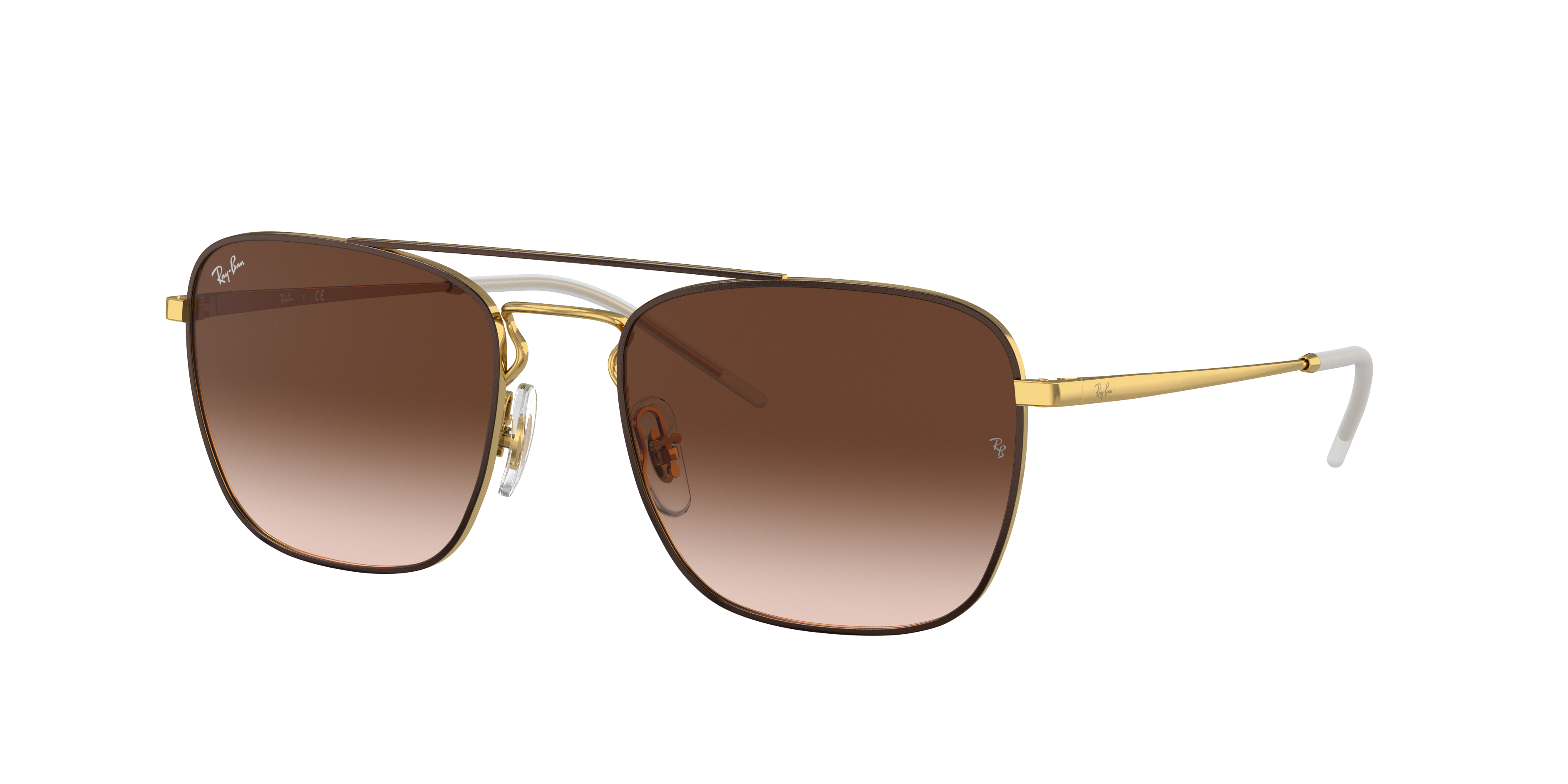 Ray-Ban Rb3588 Gold, Brown Lenses - RB3588