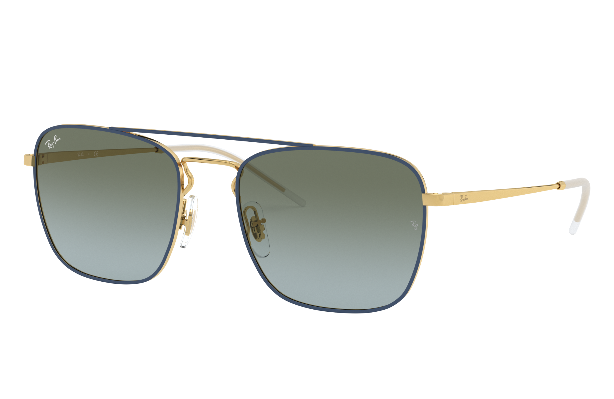 Ray-Ban Rb3588 Gold, Green Lenses - RB3588