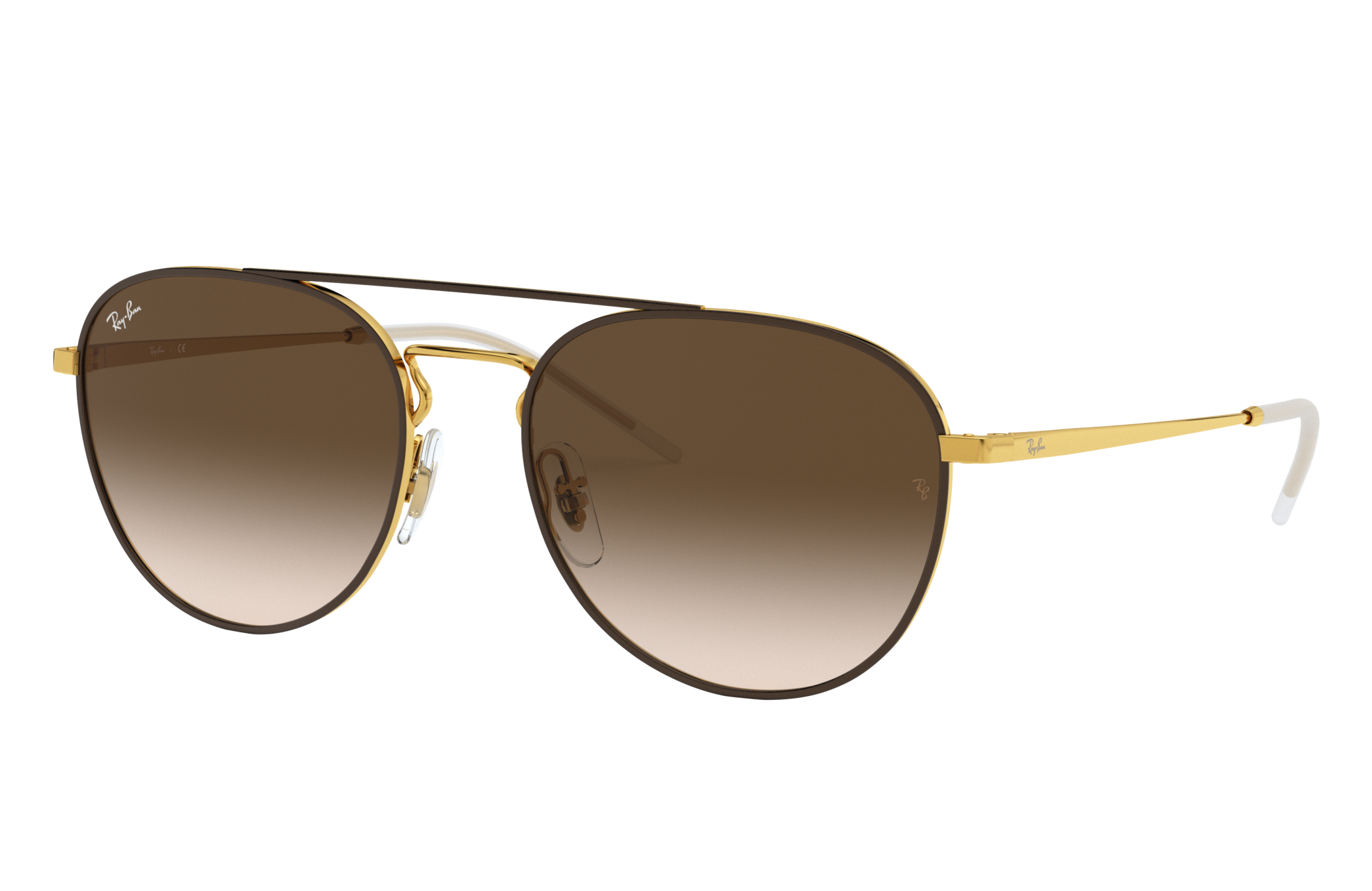 Ray-Ban Rb3589 Gold, Brown Lenses - RB3589