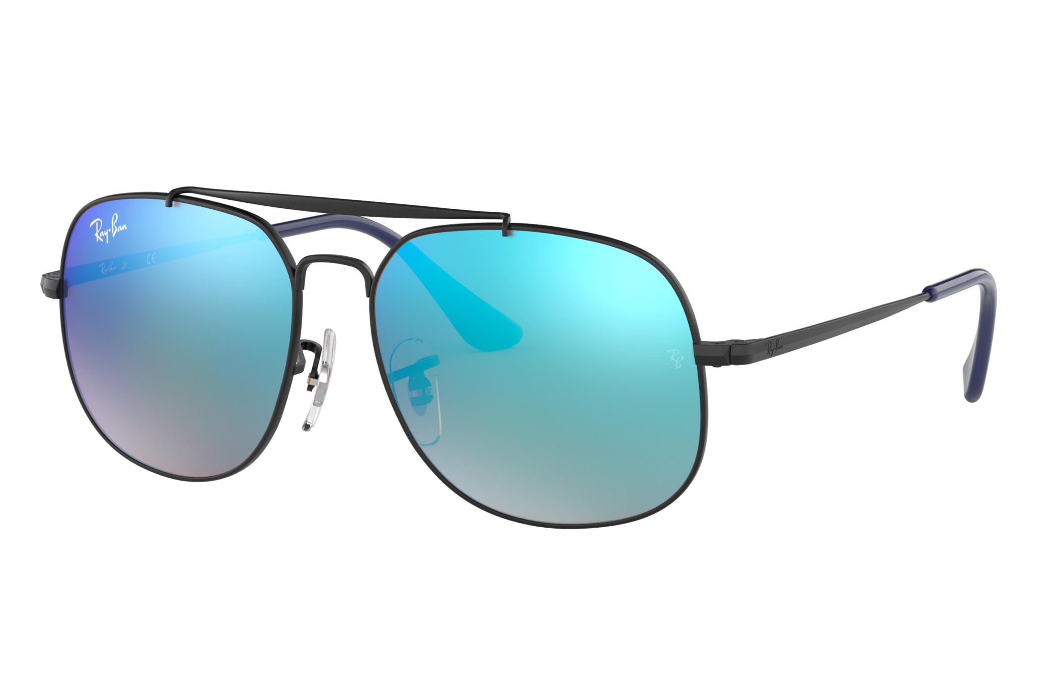Ray-Ban General Junior Black, Blue Lenses - RJ9561S