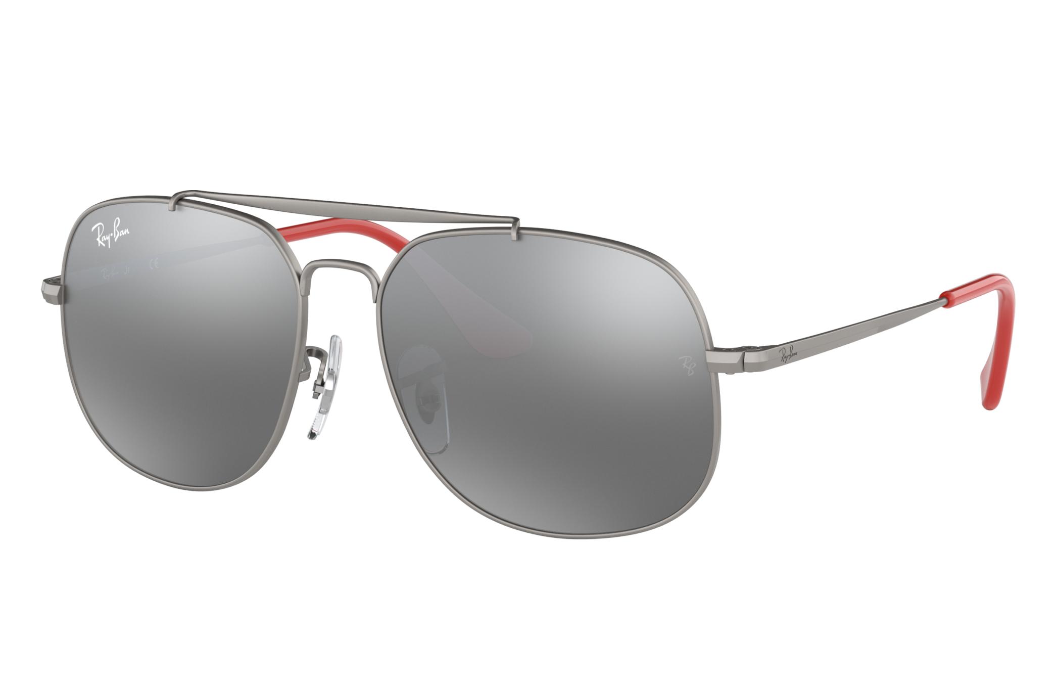 Ray-Ban General Junior Gunmetal, Gray Lenses - RJ9561S