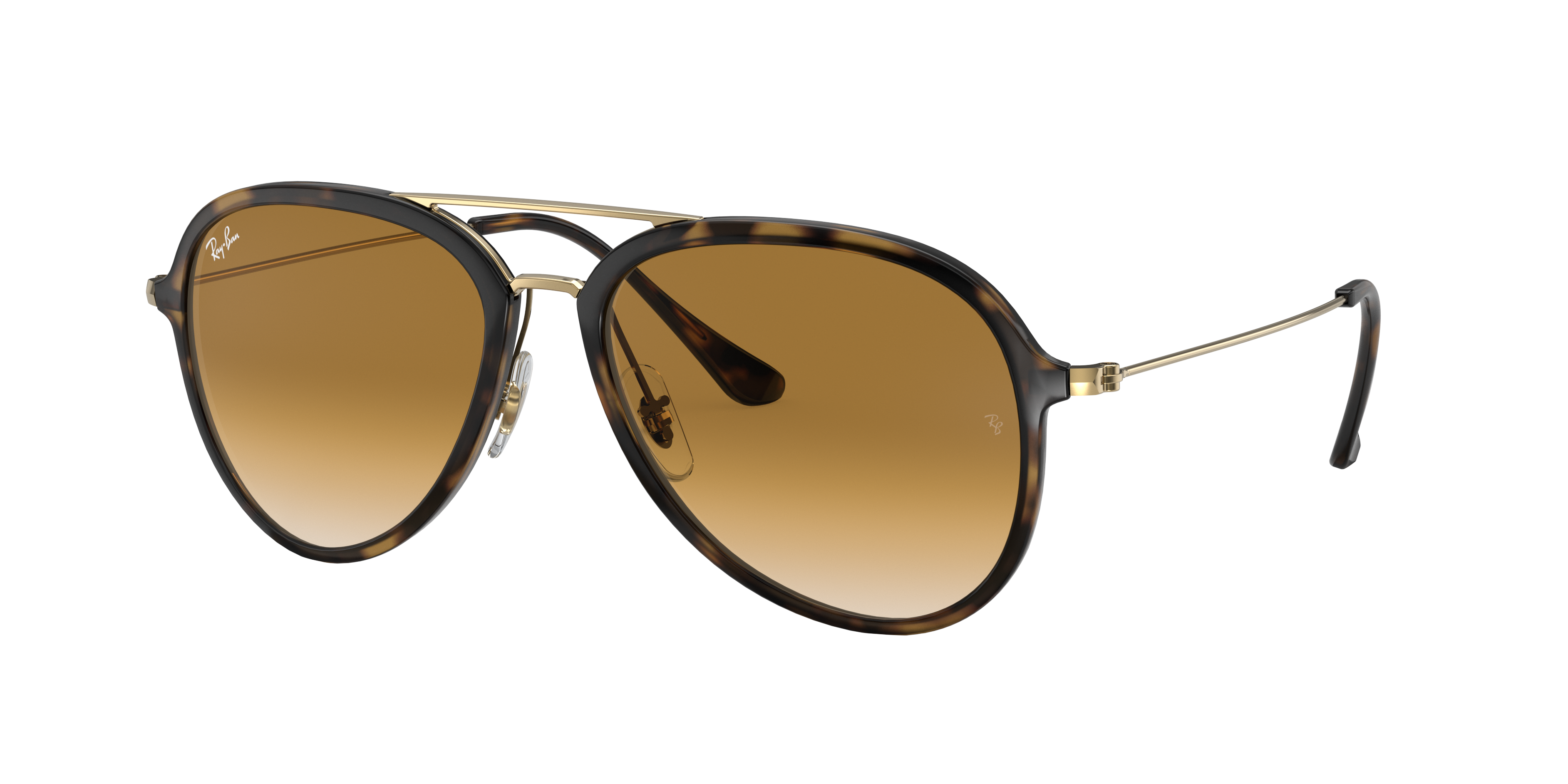 Ray-Ban Rb4298 Gold, Brown Lenses - RB4298