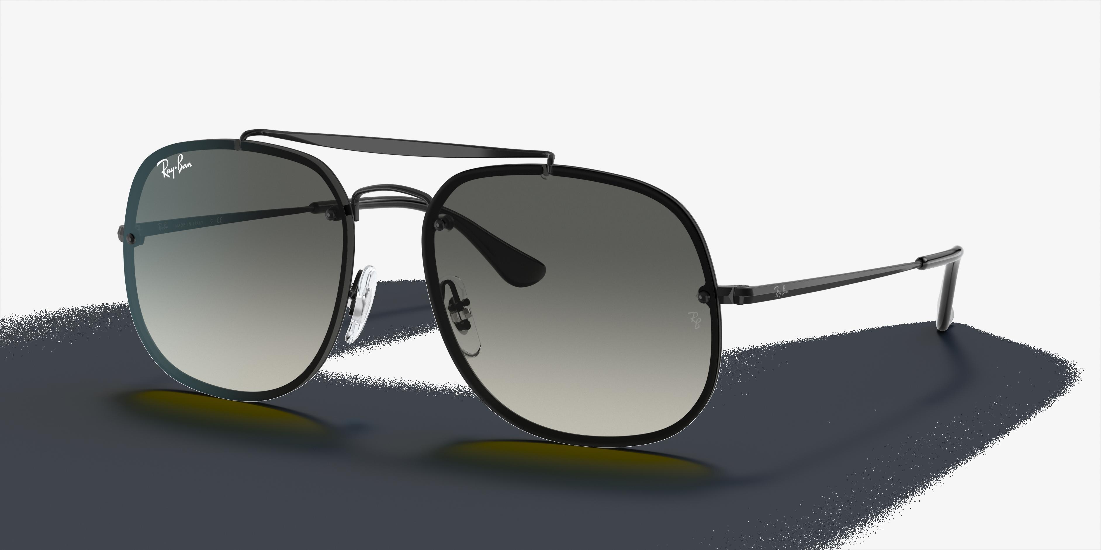 Ray-Ban Blaze General Black, Gray Lenses - RB3583N