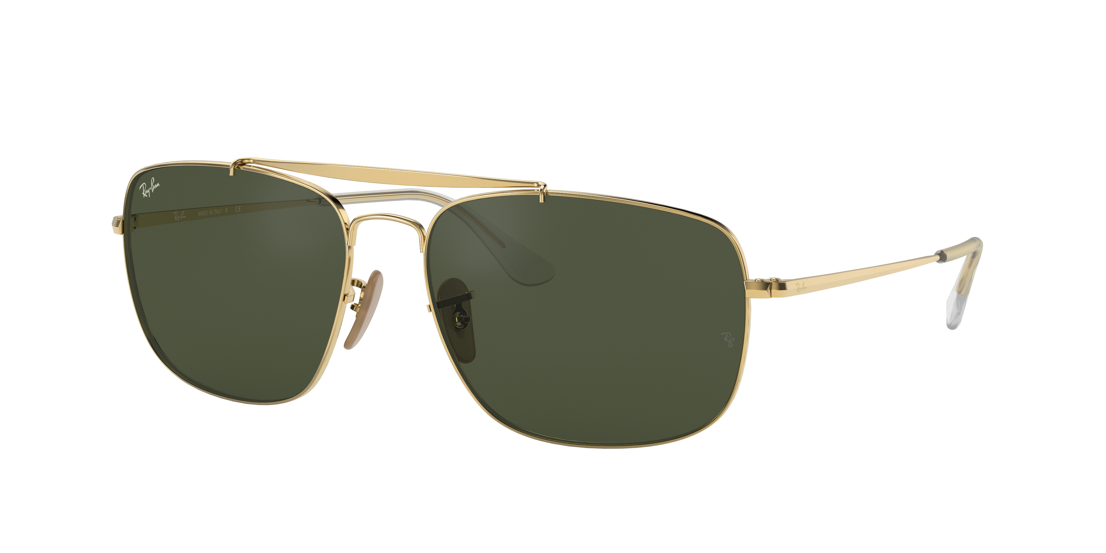Ray-Ban Colonel Gold, Green Lenses - RB3560