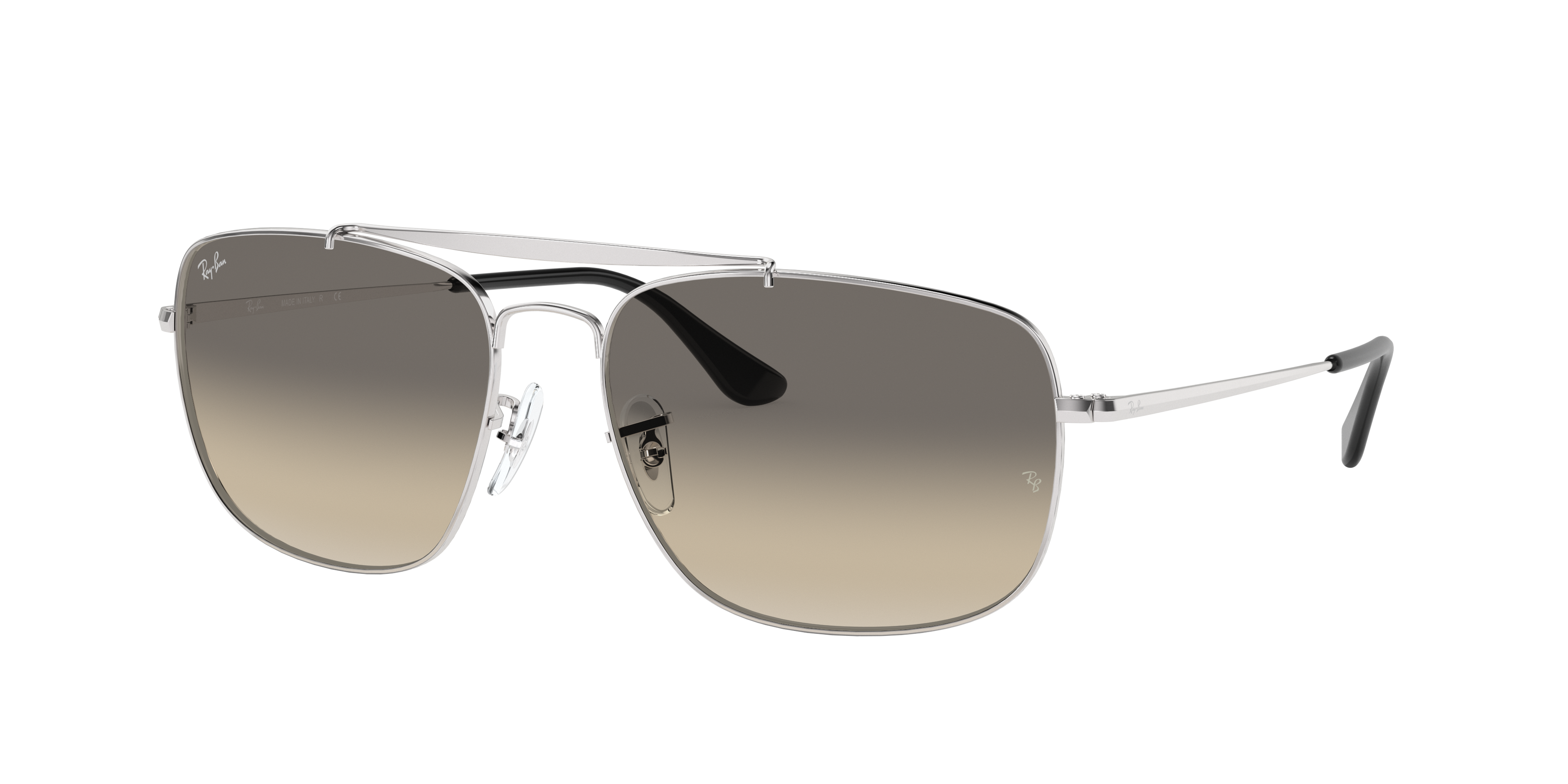 Ray-Ban Colonel Silver, Gray Lenses - RB3560