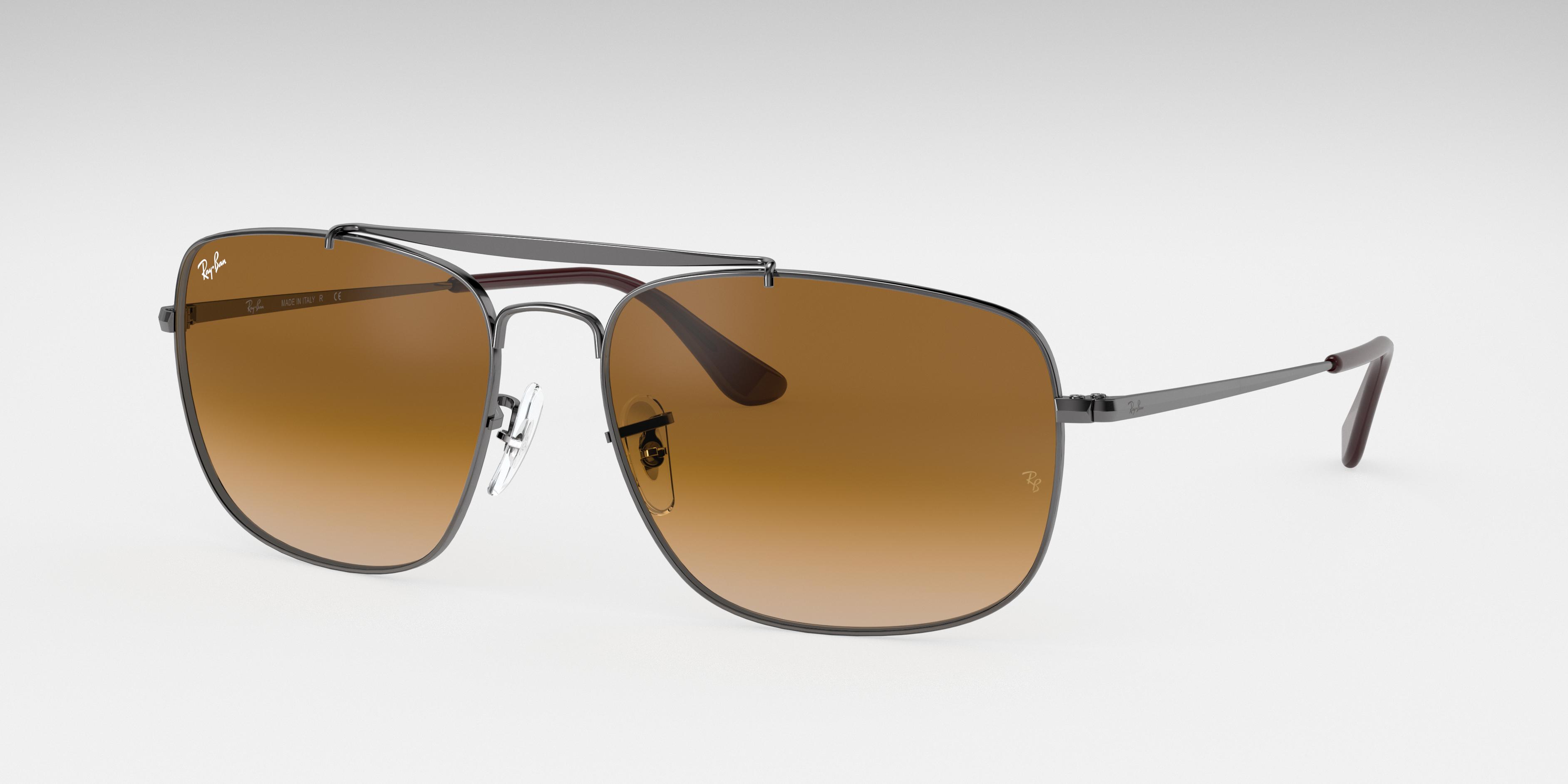 Ray-Ban Colonel Gunmetal, Brown Lenses - RB3560
