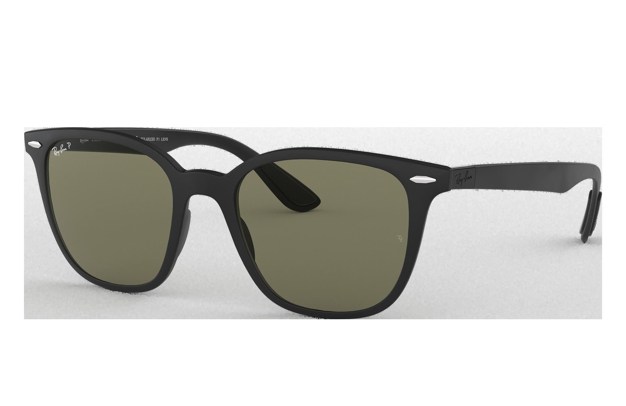 Ray-Ban Rb4297 Black, Polarized Green Lenses - RB4297