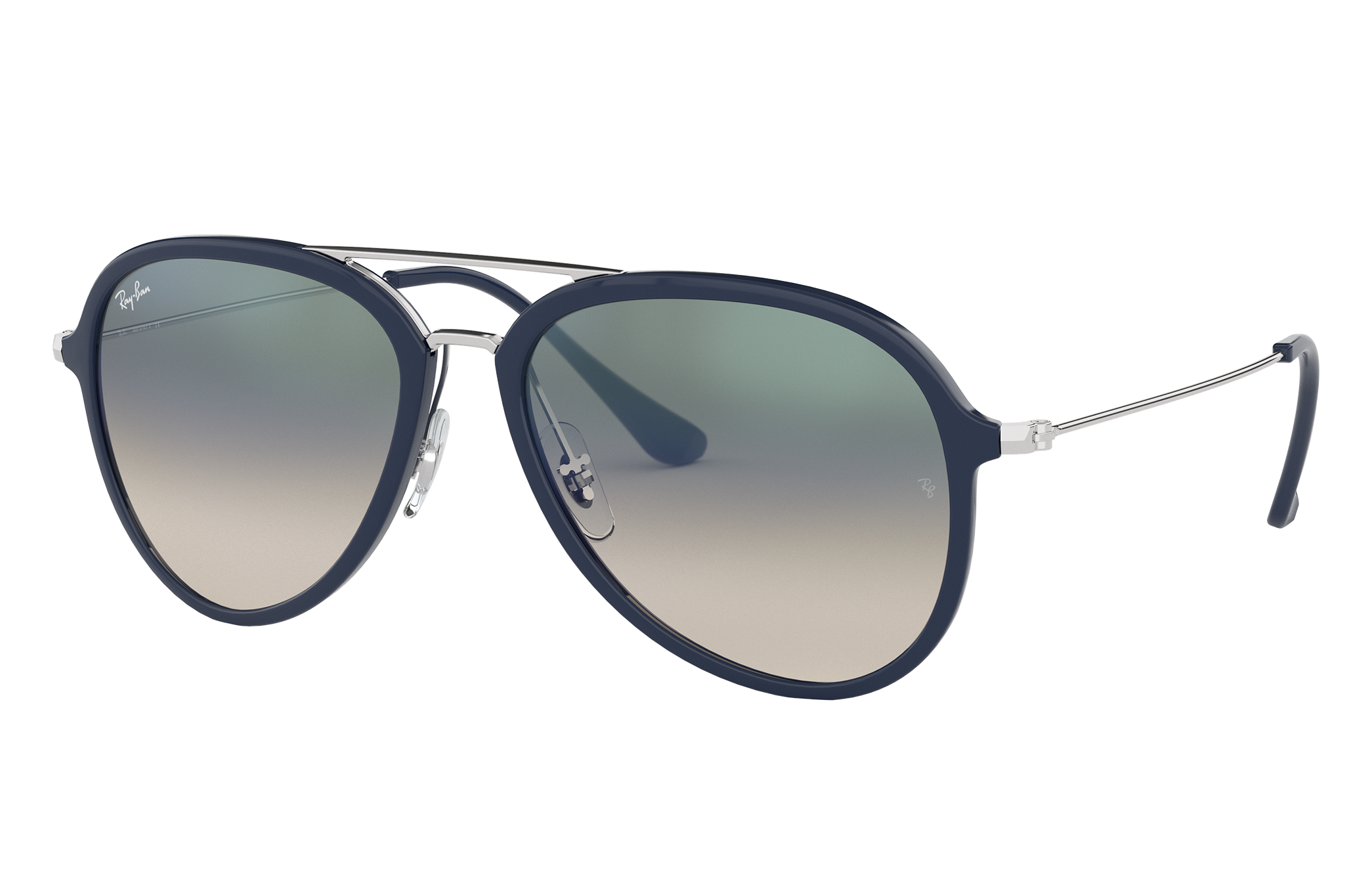 Ray-Ban Rb4298 Silver, Green Lenses - RB4298
