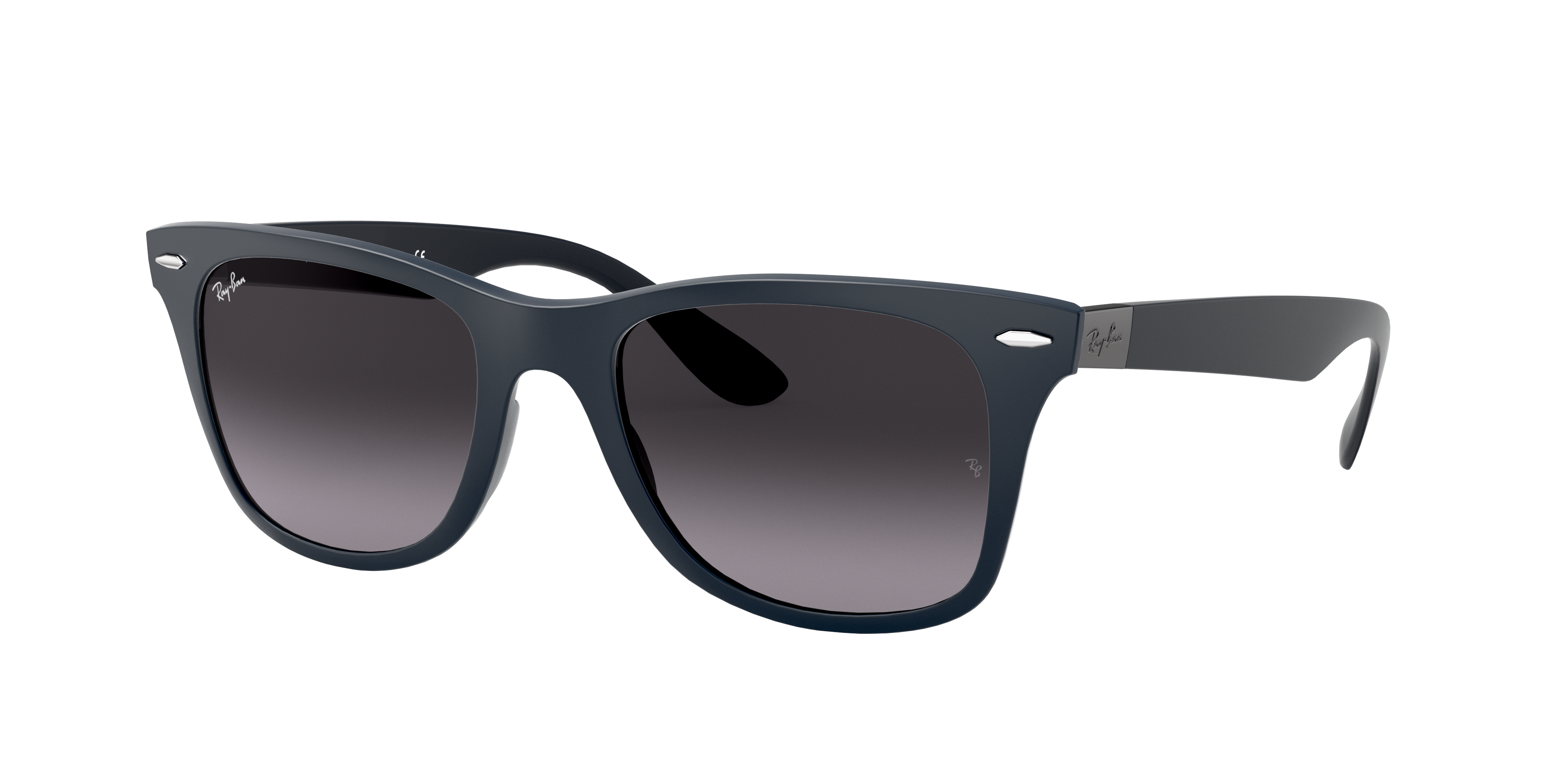 Ray-Ban Wayfarer Liteforce Blue, Gray Lenses - RB4195