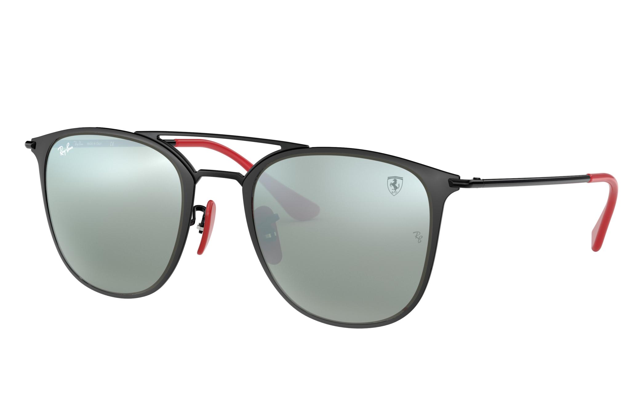 Ray-Ban Scuderia Ferrari Collection Rb3601m Black, Gray Lenses - RB3601M