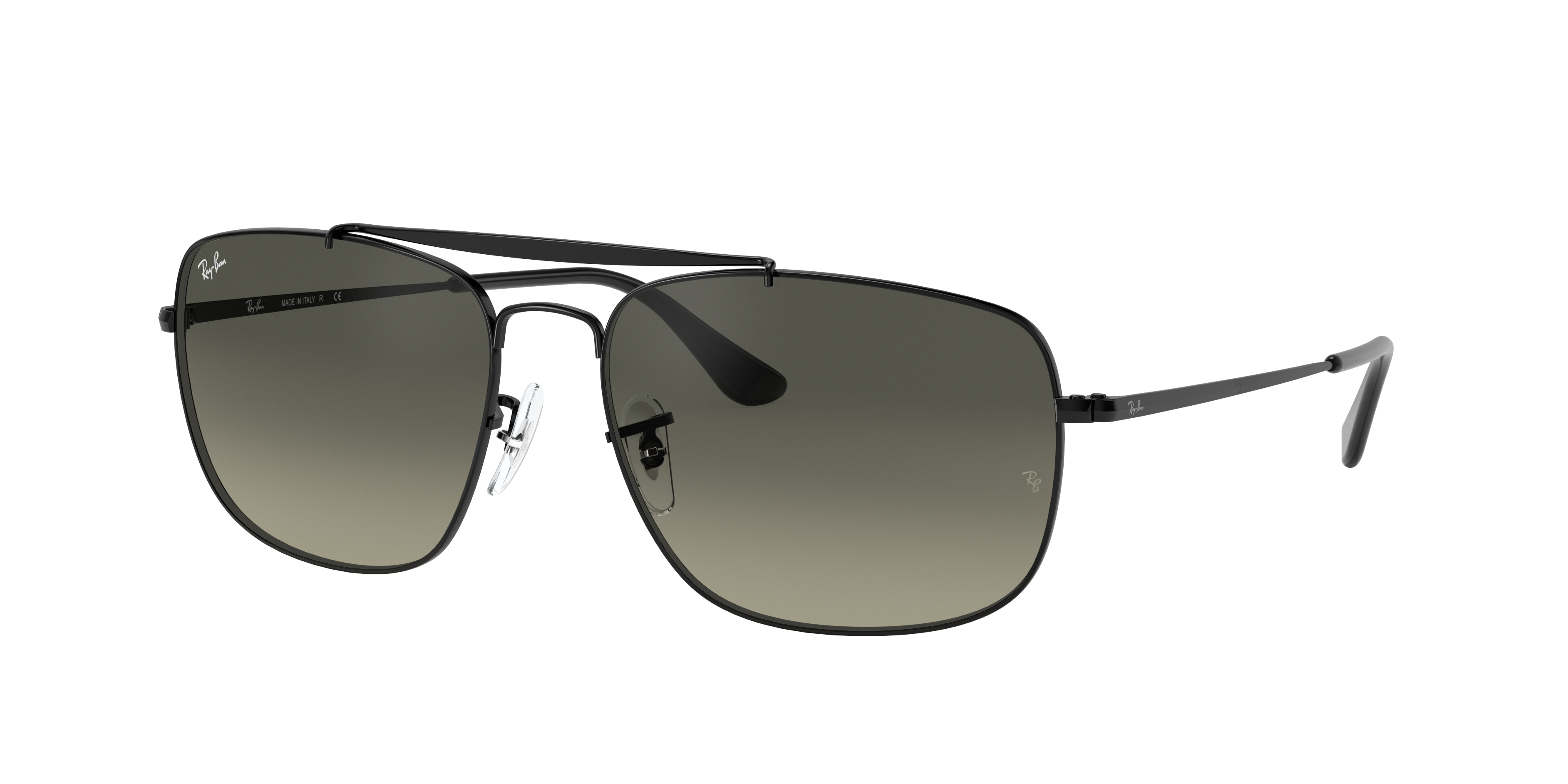 Ray-Ban Colonel Black, Gray Lenses - RB3560