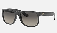 Ray-Ban RB4165 634811 54-17 JUSTIN @Collection【オンライン限定】 グレー 新作サングラス