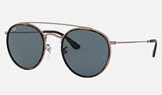 Ray-Ban RB3647N 9090R5 51-22 ROUND DOUBLE BRIDGE @COLLECTION【オンライン限定】 カッパーハバナ 新作サングラス