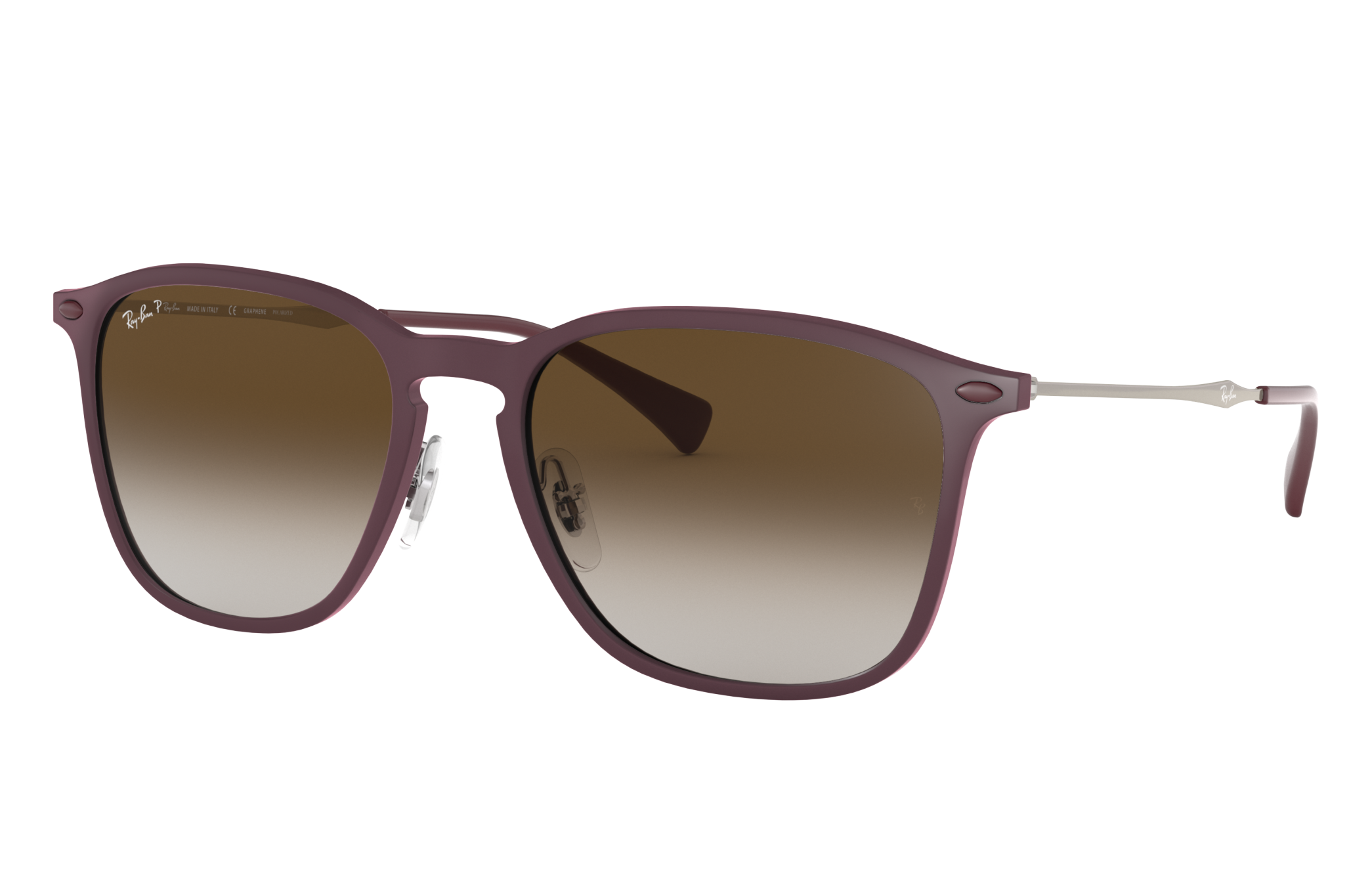 Ray-Ban Rb8353 Silver, Polarized Brown Lenses - RB8353