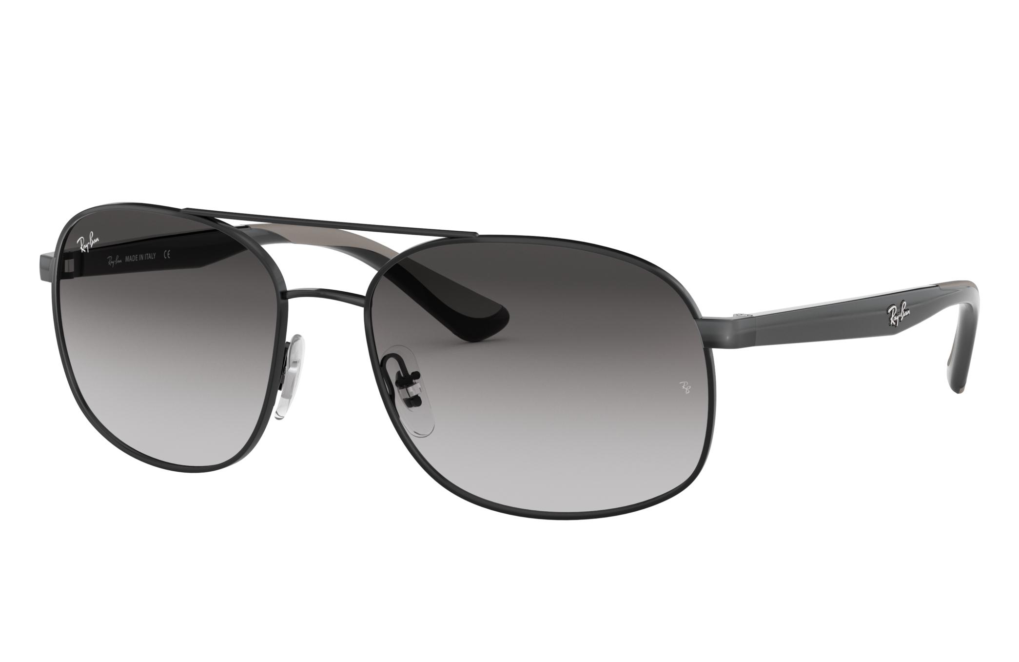 Ray-Ban Rb3593 Black, Gray Lenses - RB3593