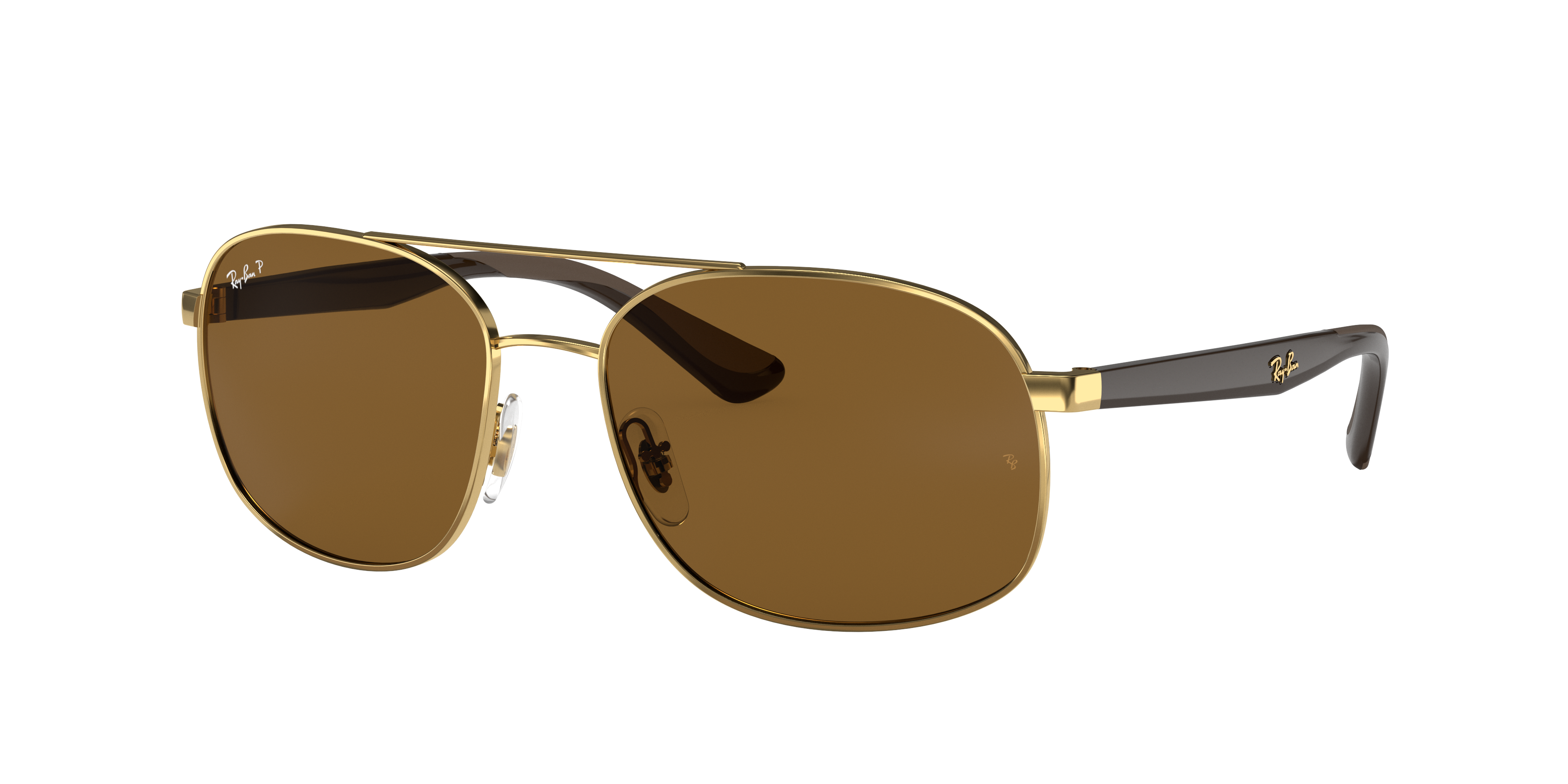 Ray-Ban Rb3593 Brown, Polarized Brown Lenses - RB3593