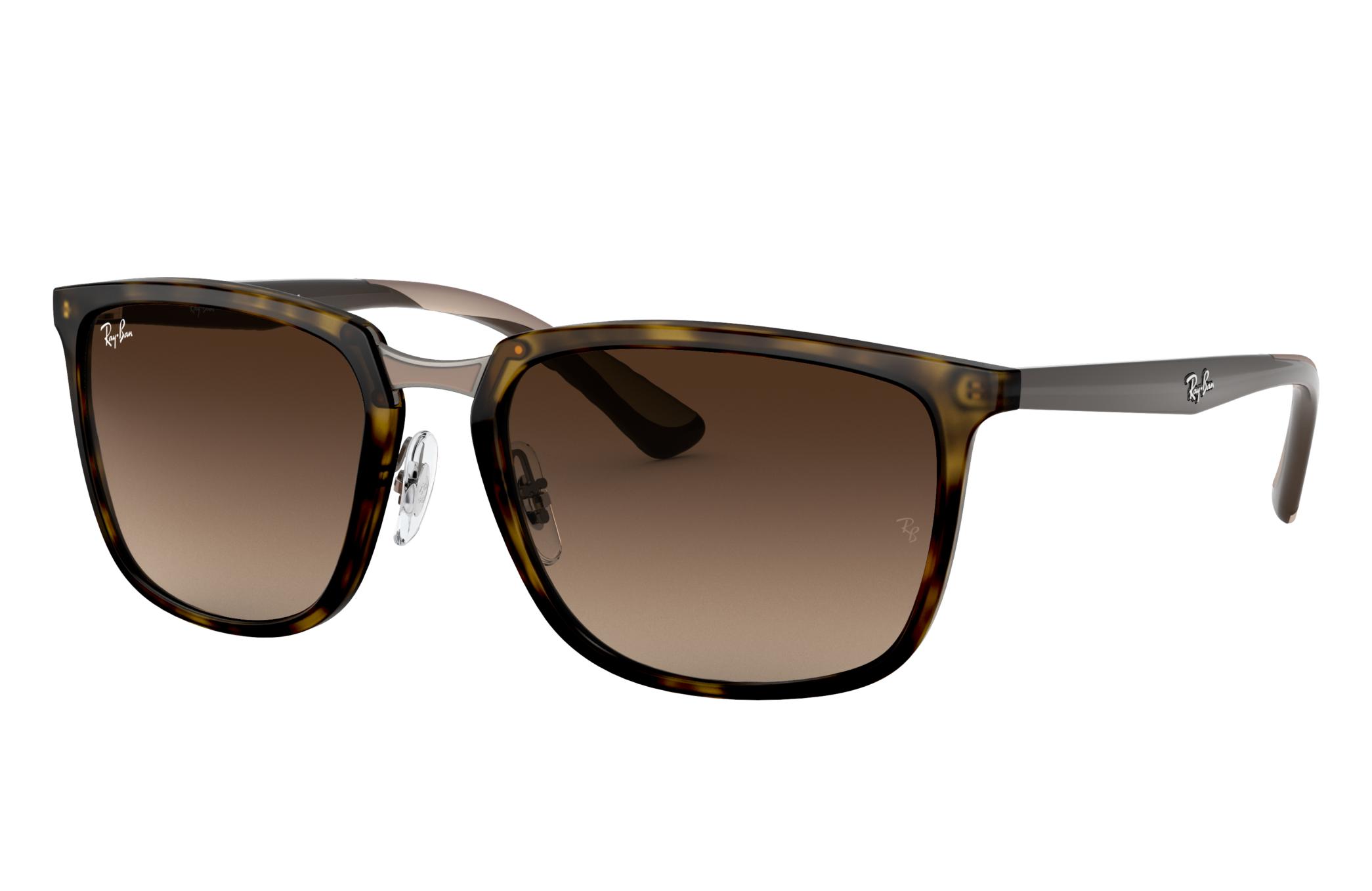 Ray-Ban Rb4303 Black, Brown Lenses - RB4303