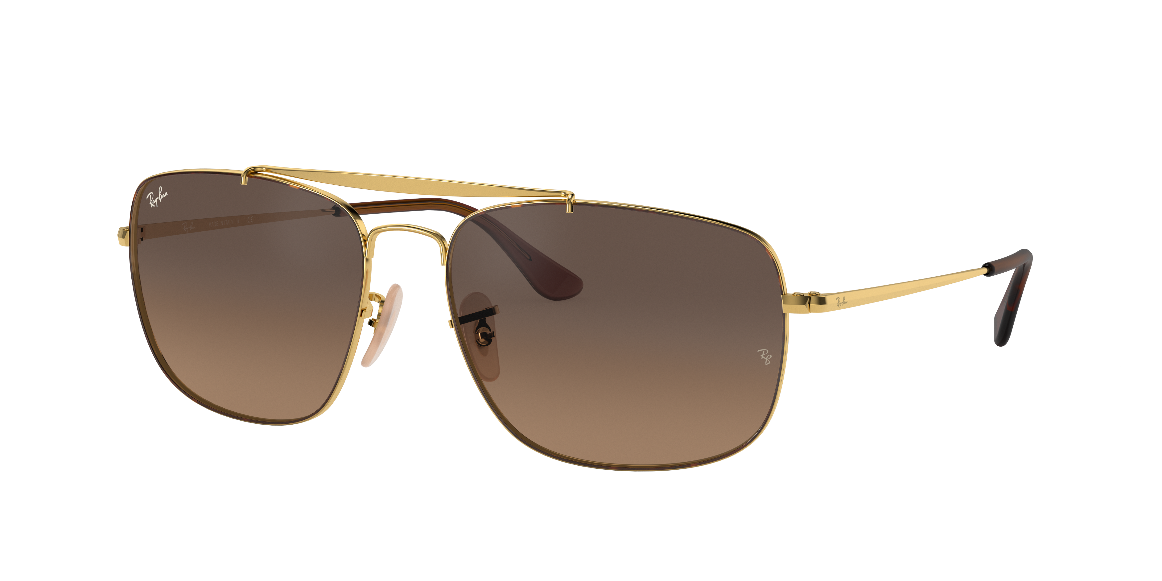 Ray-Ban Colonel Gold, Brown Lenses - RB3560