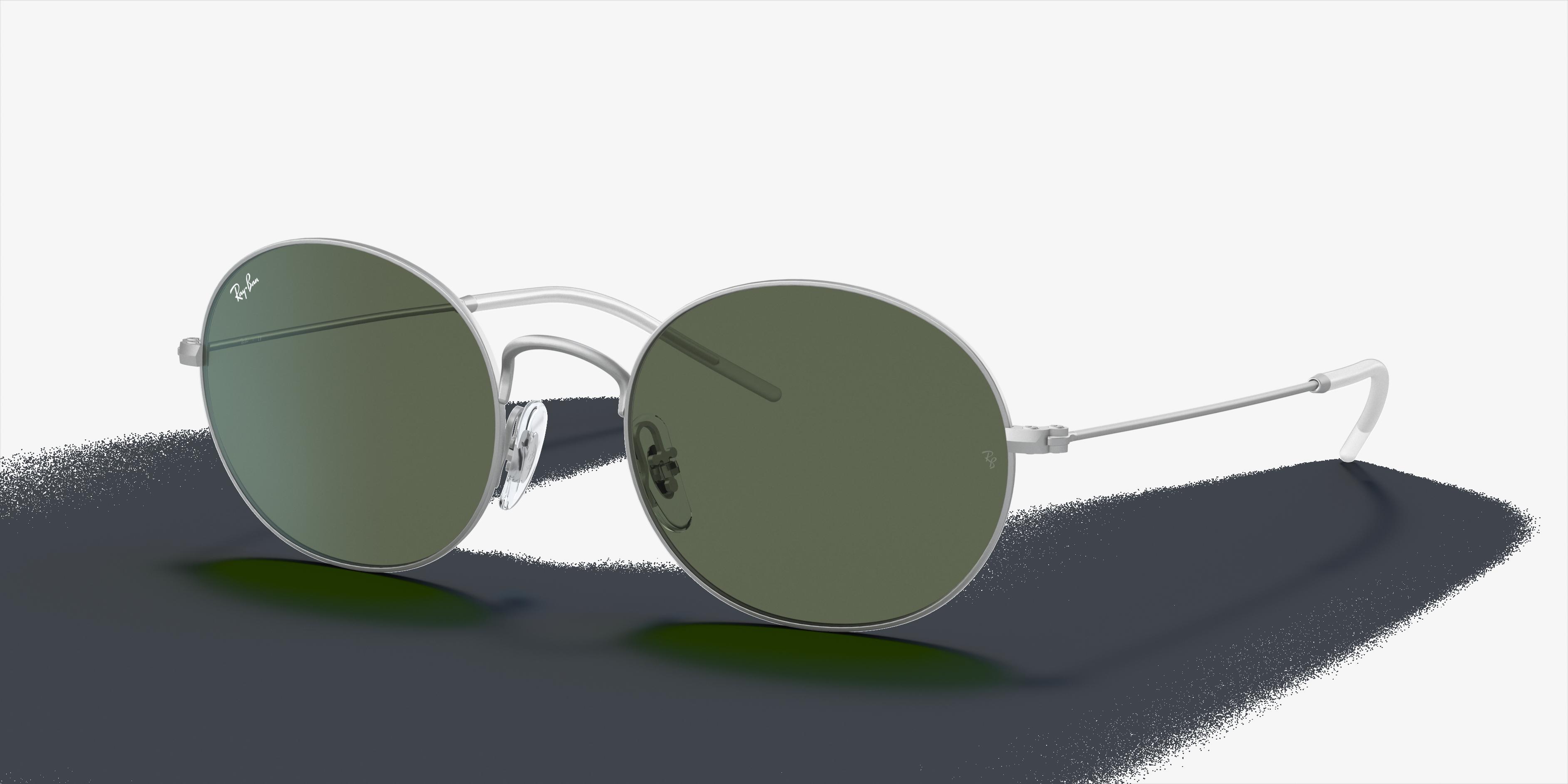 Ray-Ban Ray-ban Beat Silver, Green Lenses - RB3594