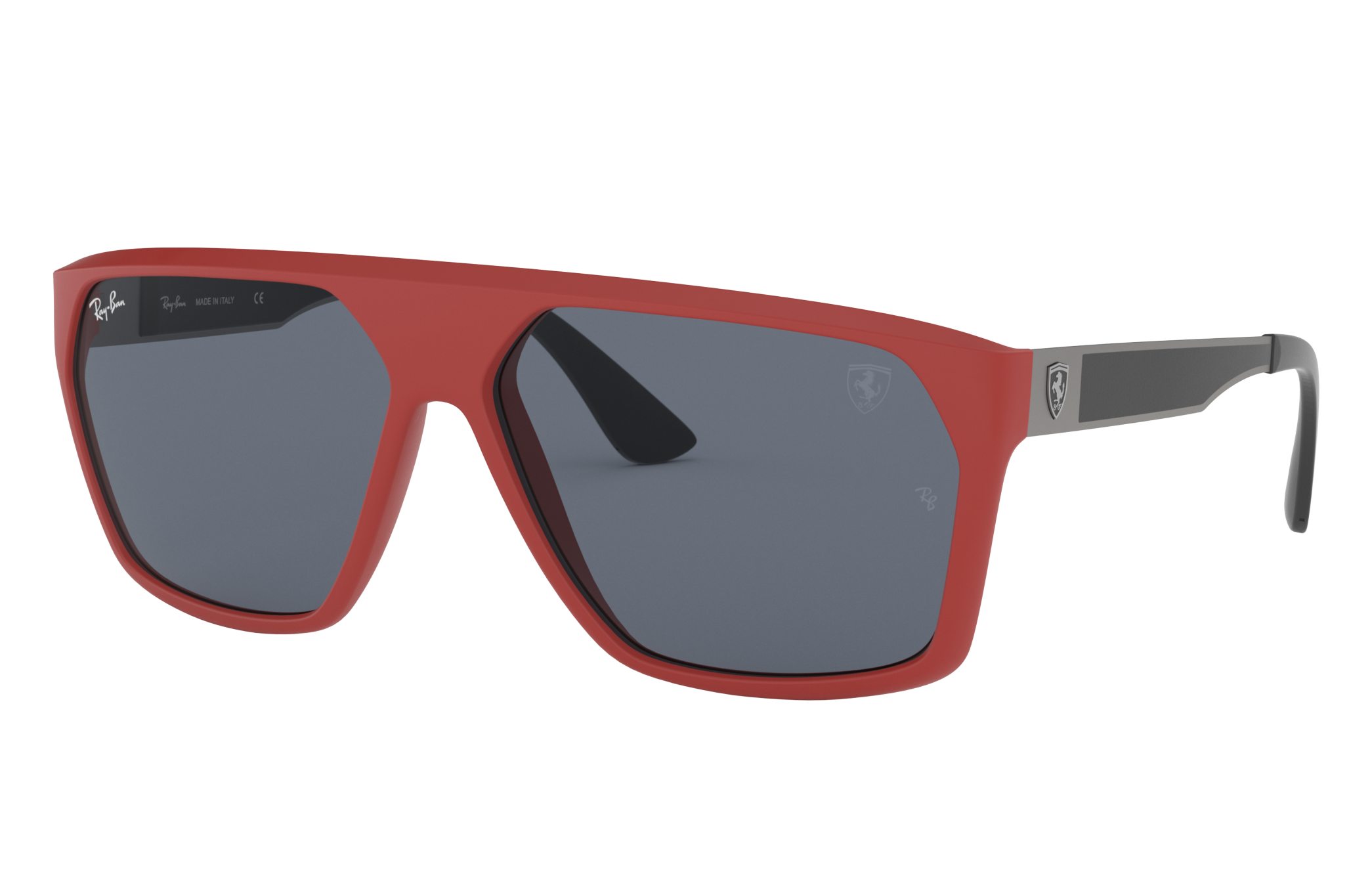 Ray-Ban Rb4309m Scuderia Ferrari Collection Red, Gray Lenses - RB4309M