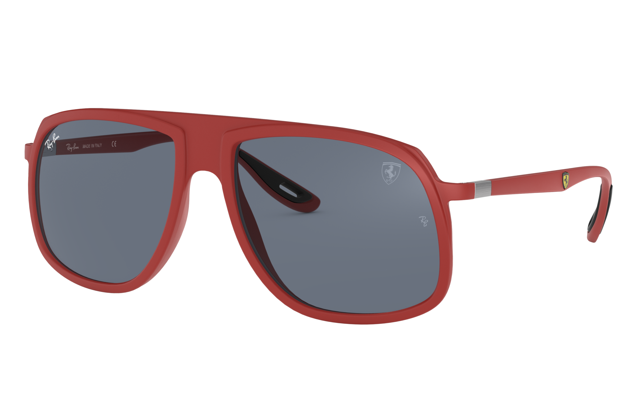 Ray-Ban Rb4308m Scuderia Ferrari Collection Red, Gray Lenses - RB4308M