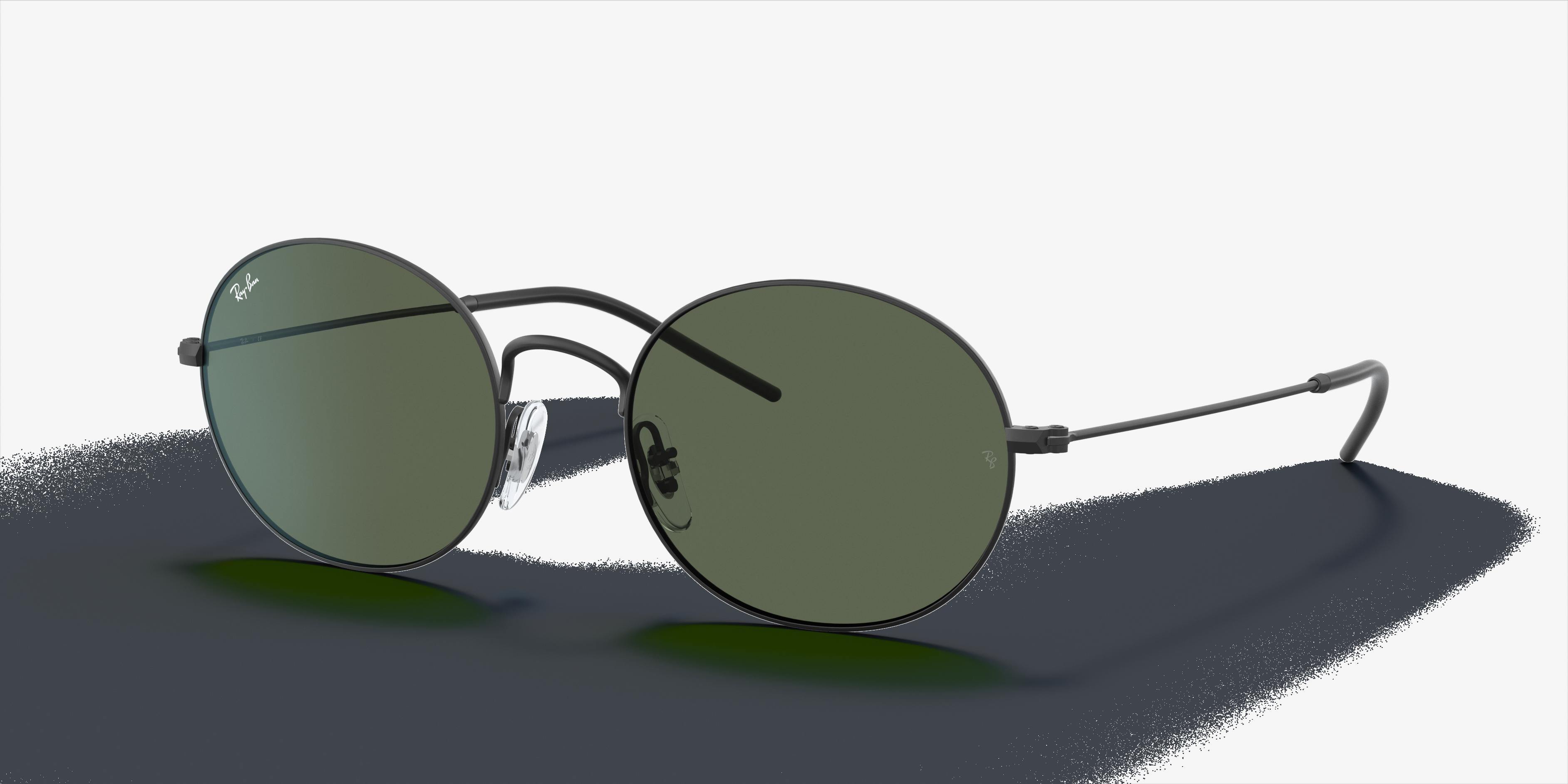 Ray-Ban Ray-ban Beat Black, Green Lenses - RB3594