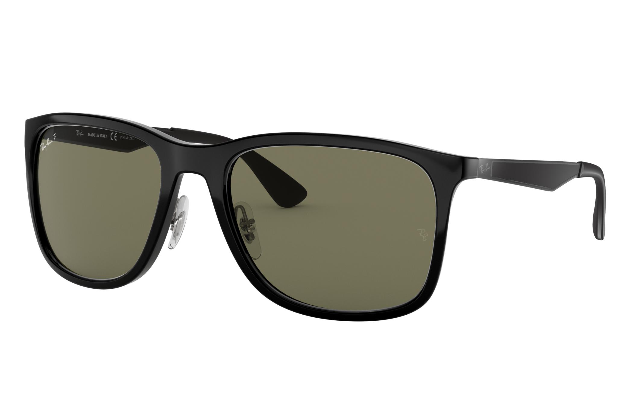 Ray-Ban Rb4313 Gunmetal, Polarized Green Lenses - RB4313