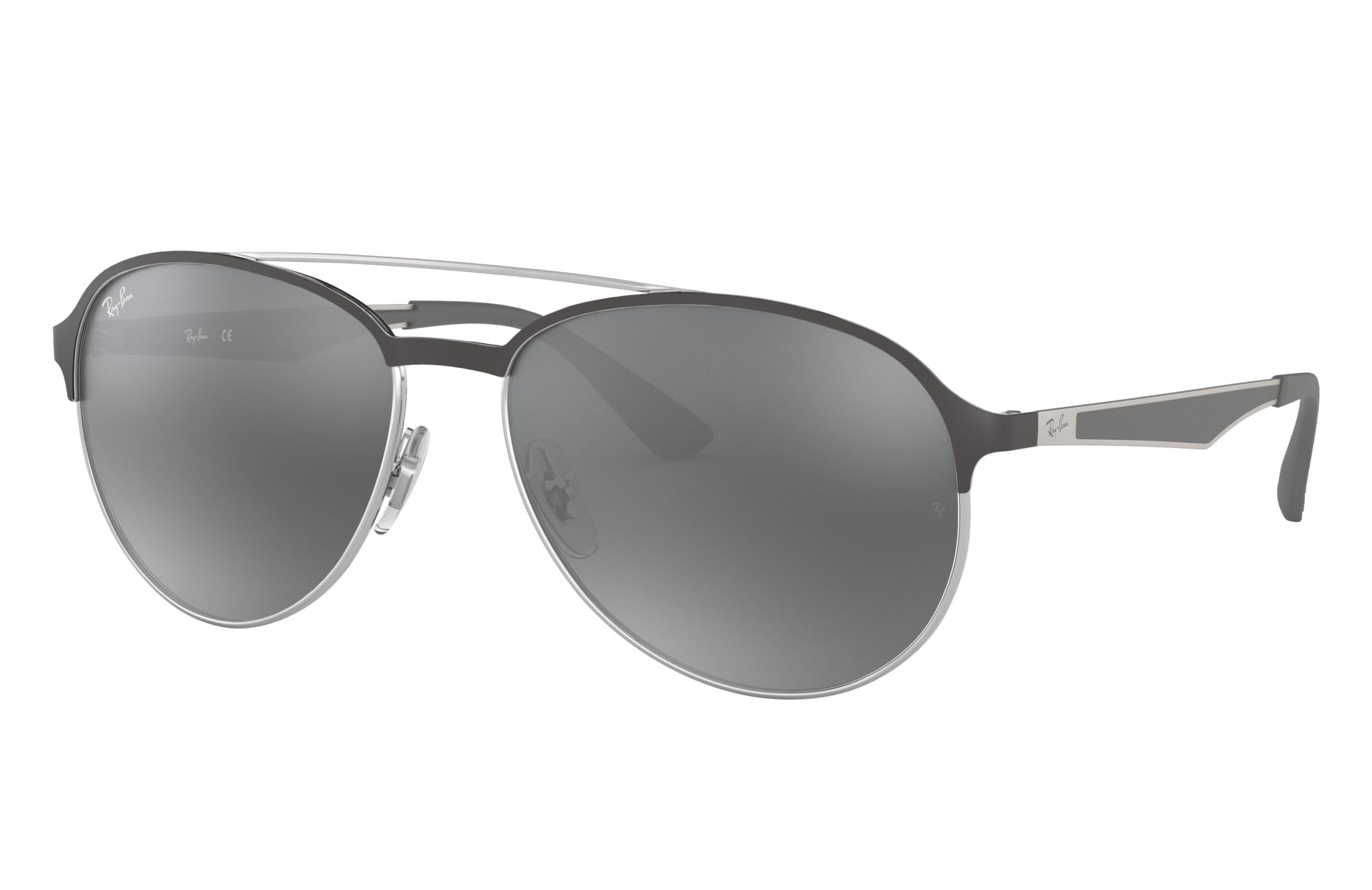 Ray-Ban Rb3606 Gunmetal, Gray Lenses - RB3606