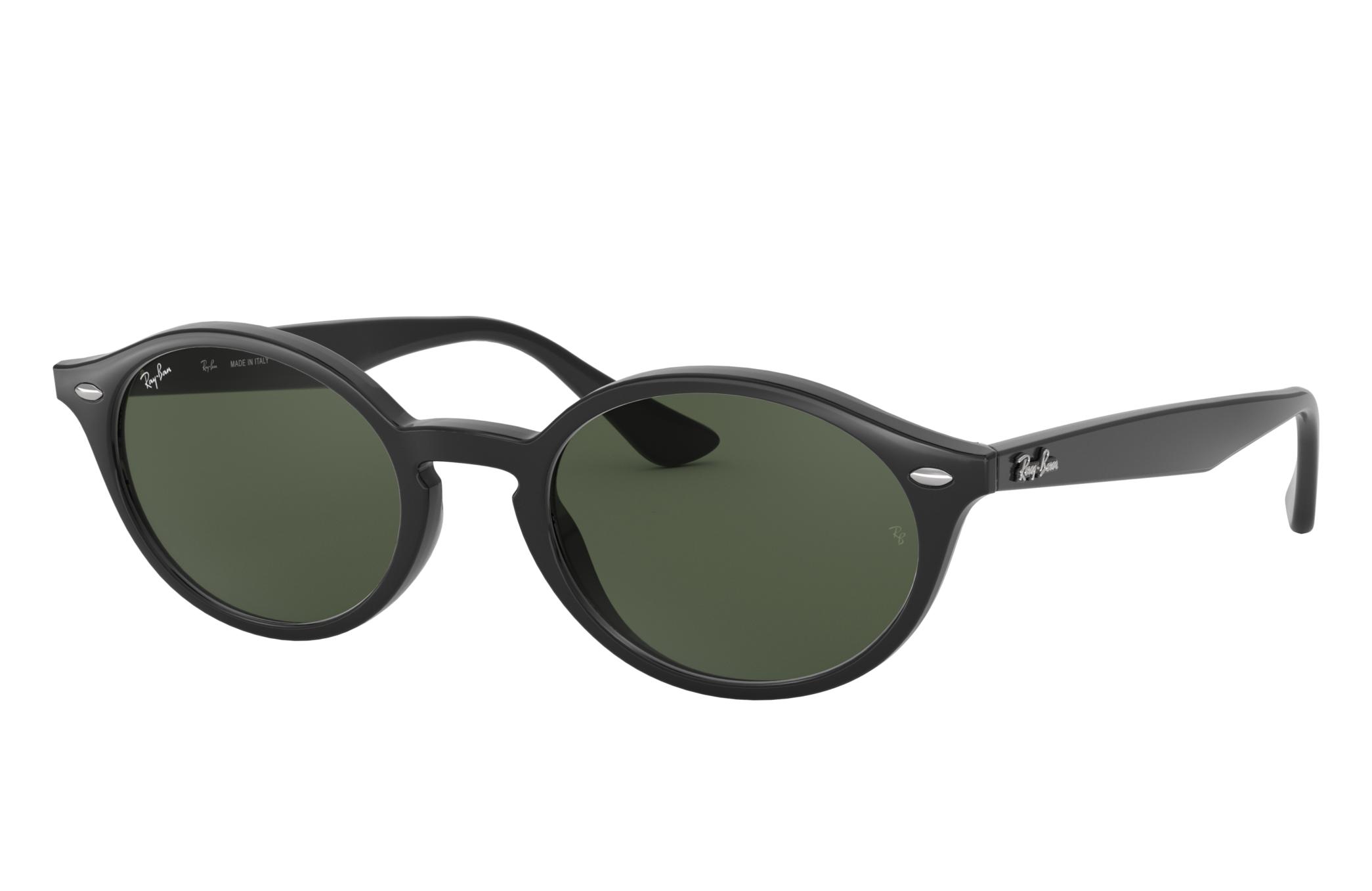 Ray-Ban Rb4315 Black, Green Lenses - RB4315