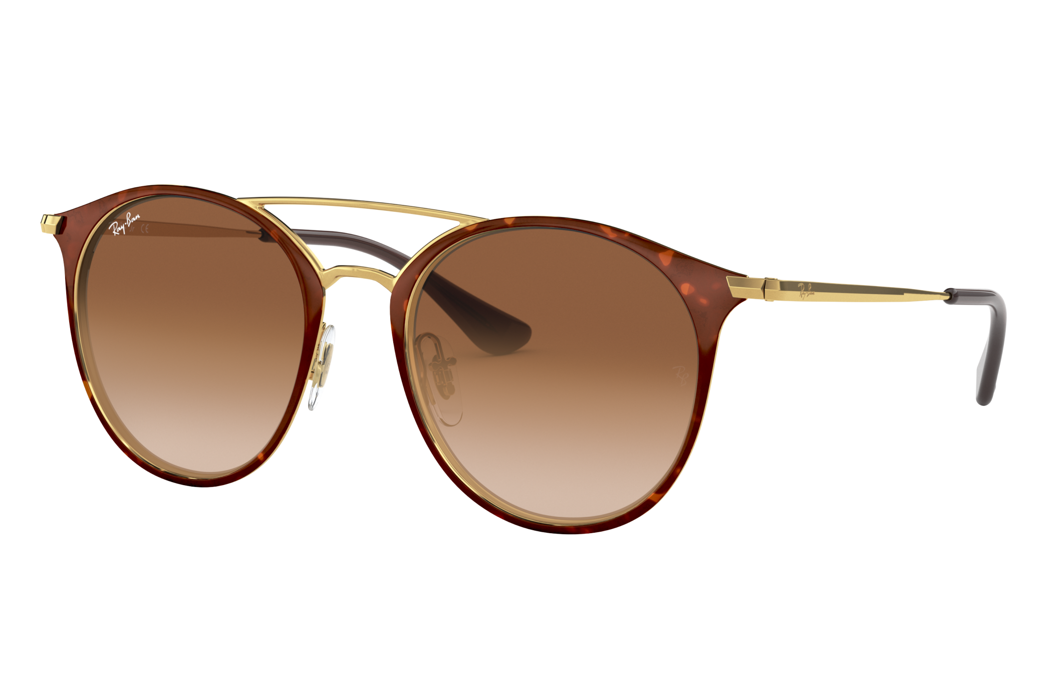 Ray-Ban Rj9545s Gold, Brown Lenses - RJ9545S