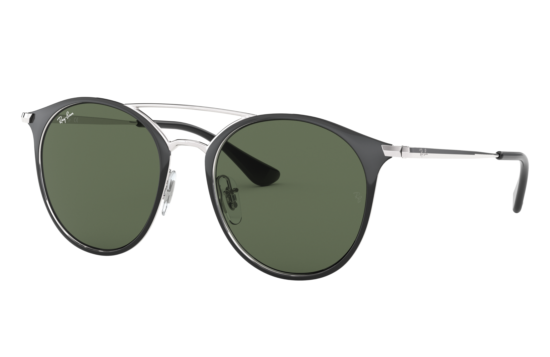 Ray-Ban Rj9545s Silver, Green Lenses - RJ9545S
