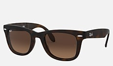 Ray-Ban RB4105 894/43 50-22 WAYFARER FOLDING CLASSIC マットハバナ Wayfarer